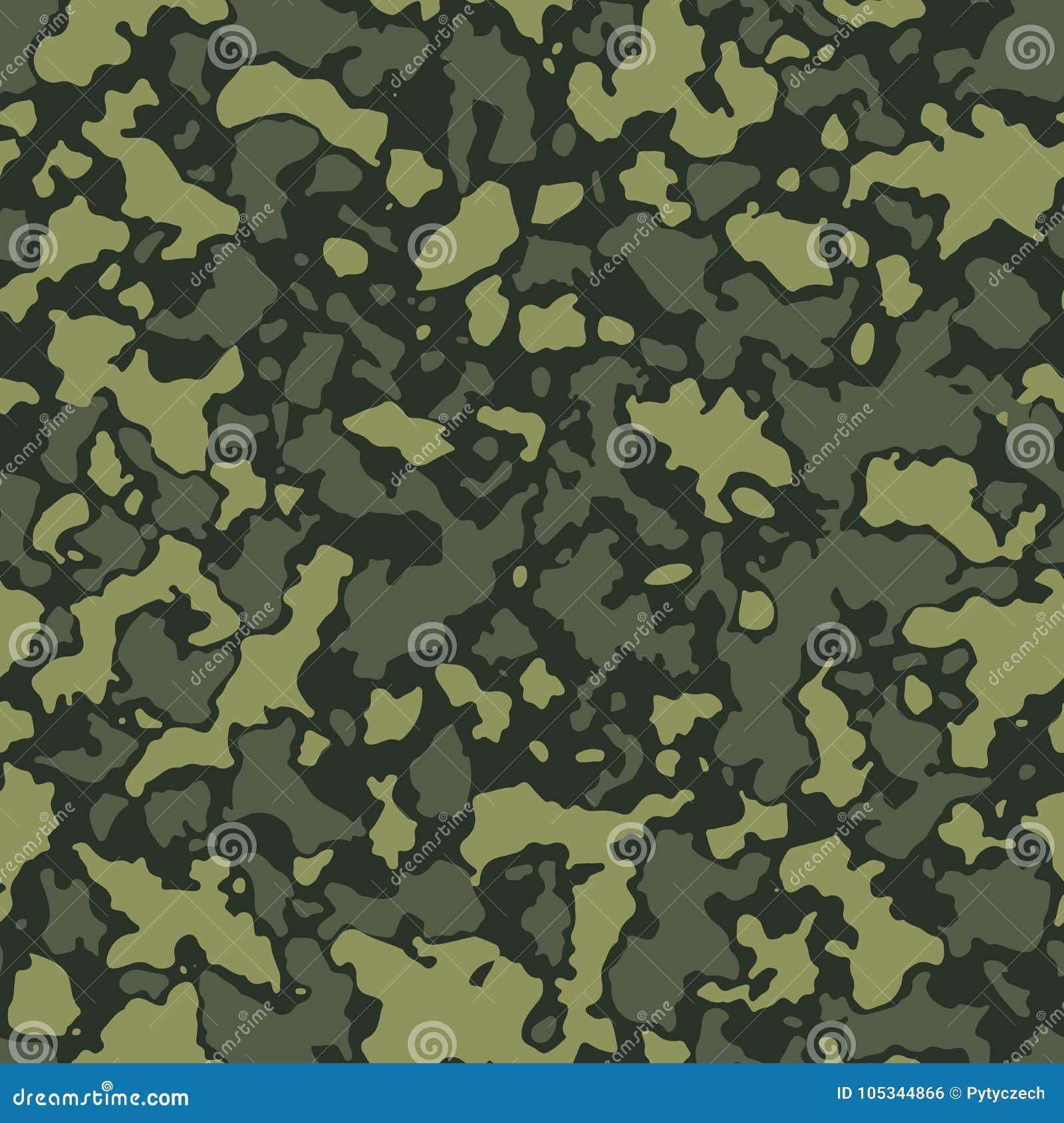 Army Camo Pattern Custom Decorating Design