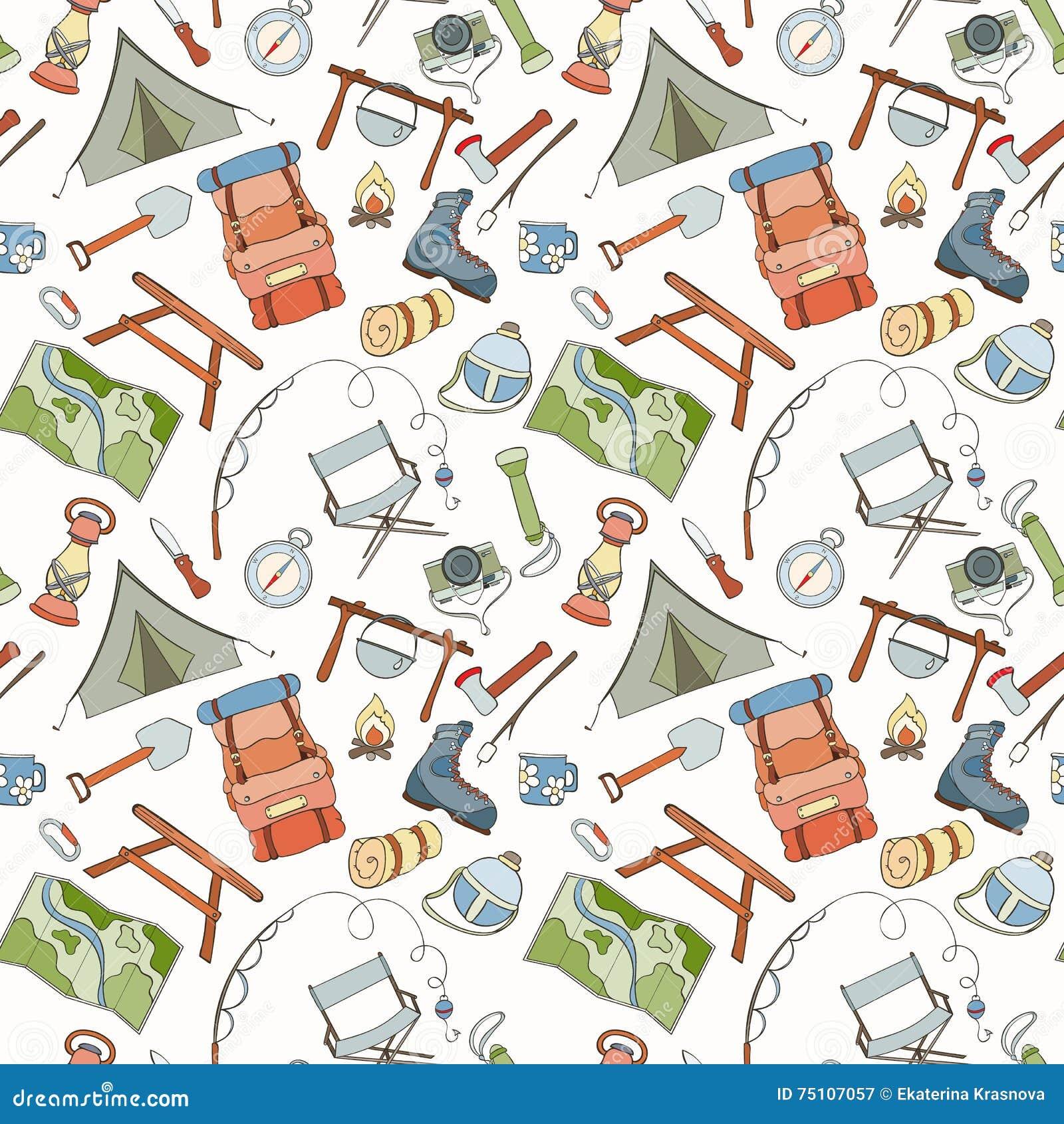 View Cartoon Camping Background Wallpaper Pics