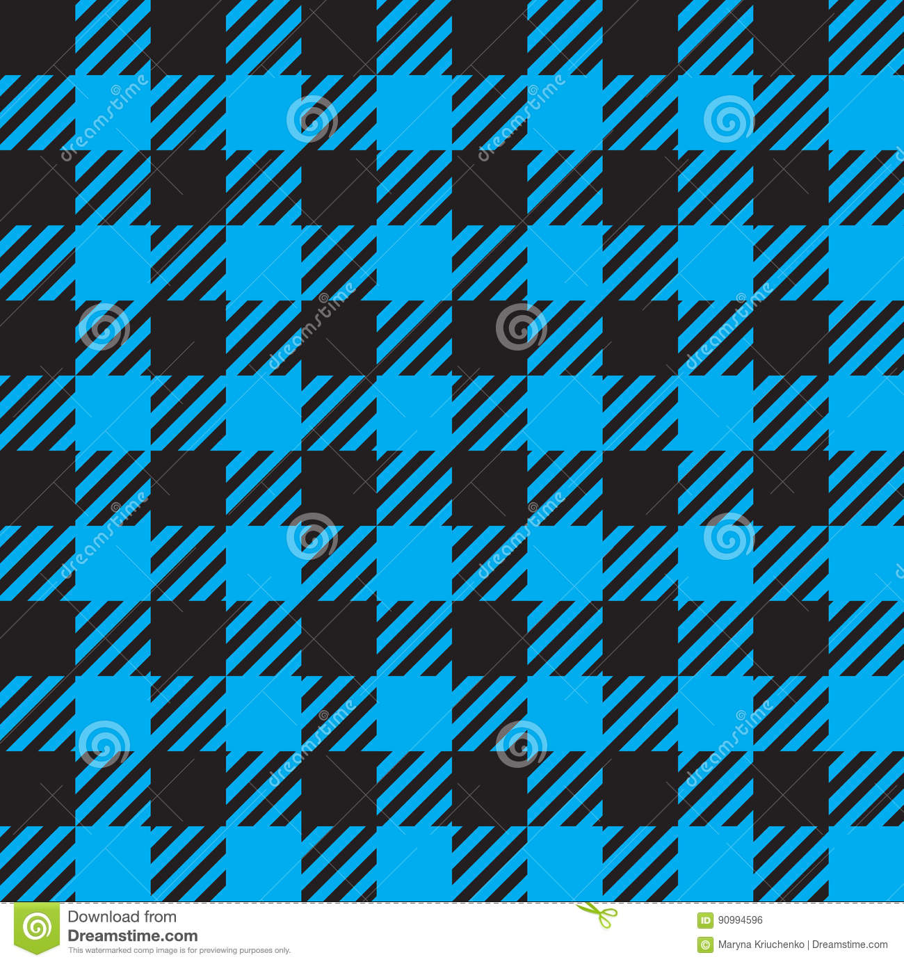 Seamless Checkered Pattern Stock Vector Illustration Of Cloth