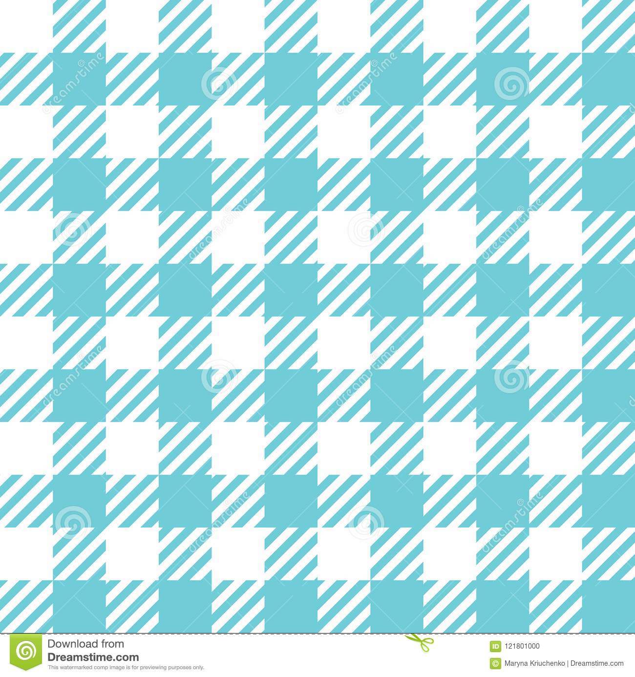 Seamless Checkered Pattern Stock Vector Illustration Of
