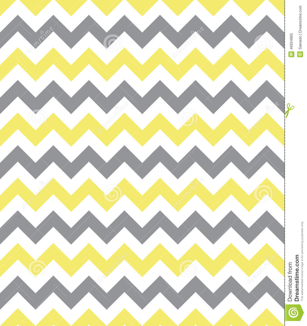 Yellow And Gray Pattern