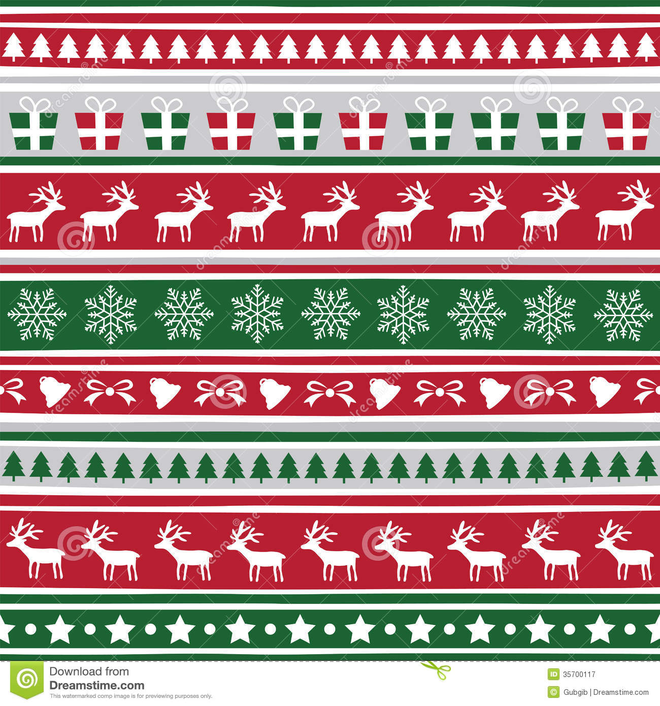 Seamless Christmas Background6 Royalty Free Stock Photography ...