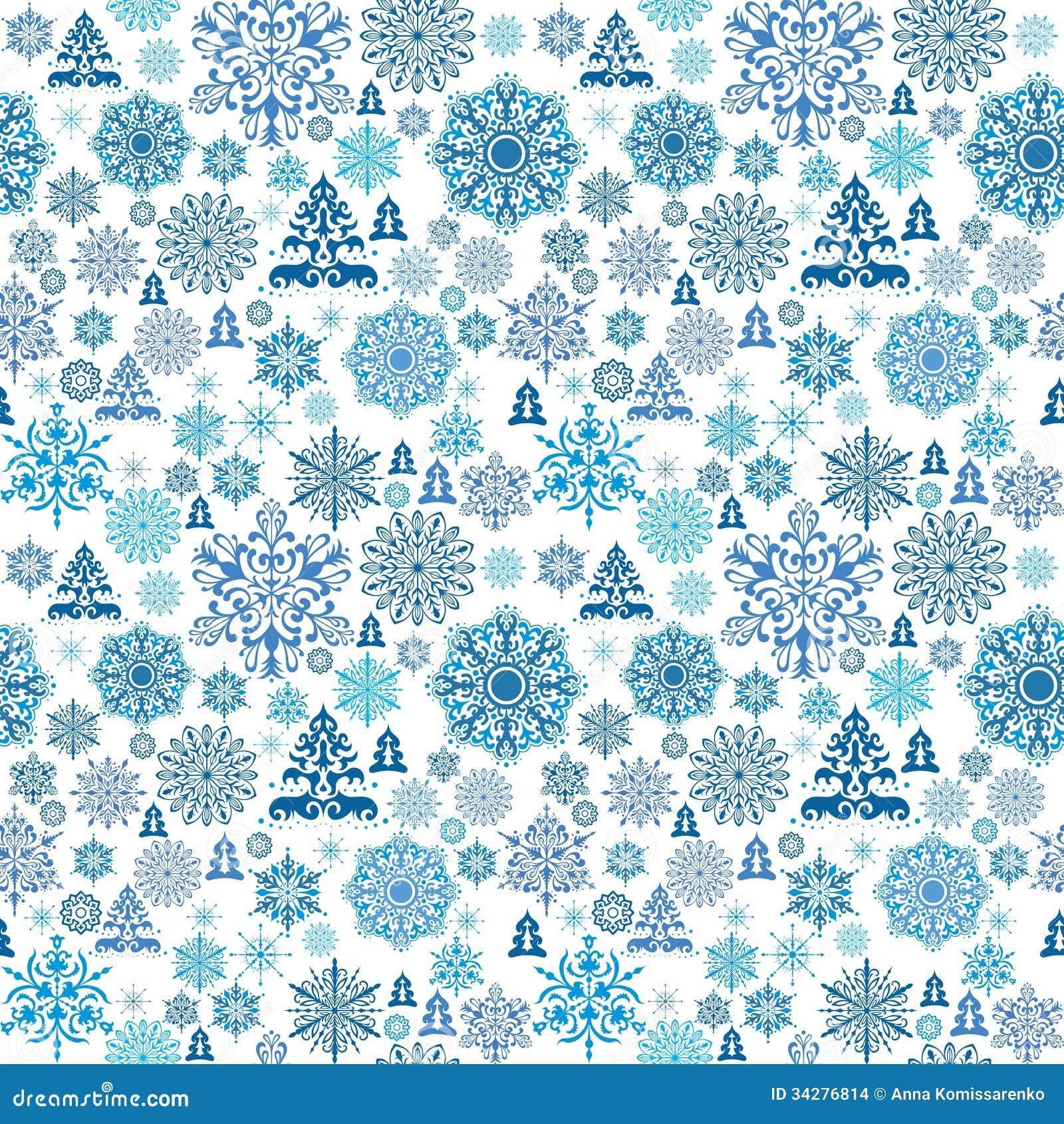 Seamless Christmas Pattern Stock Vector Illustration Of