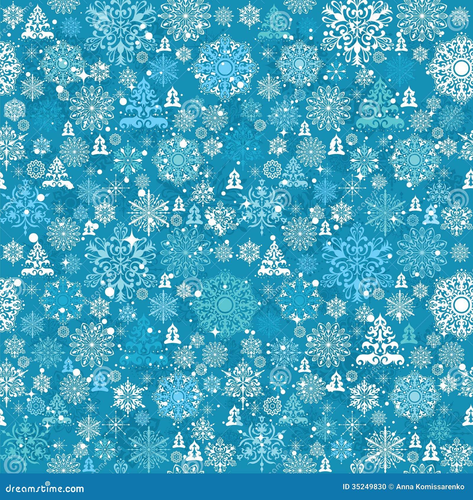 Seamless Christmas Pattern Stock Vector Image Of Tree