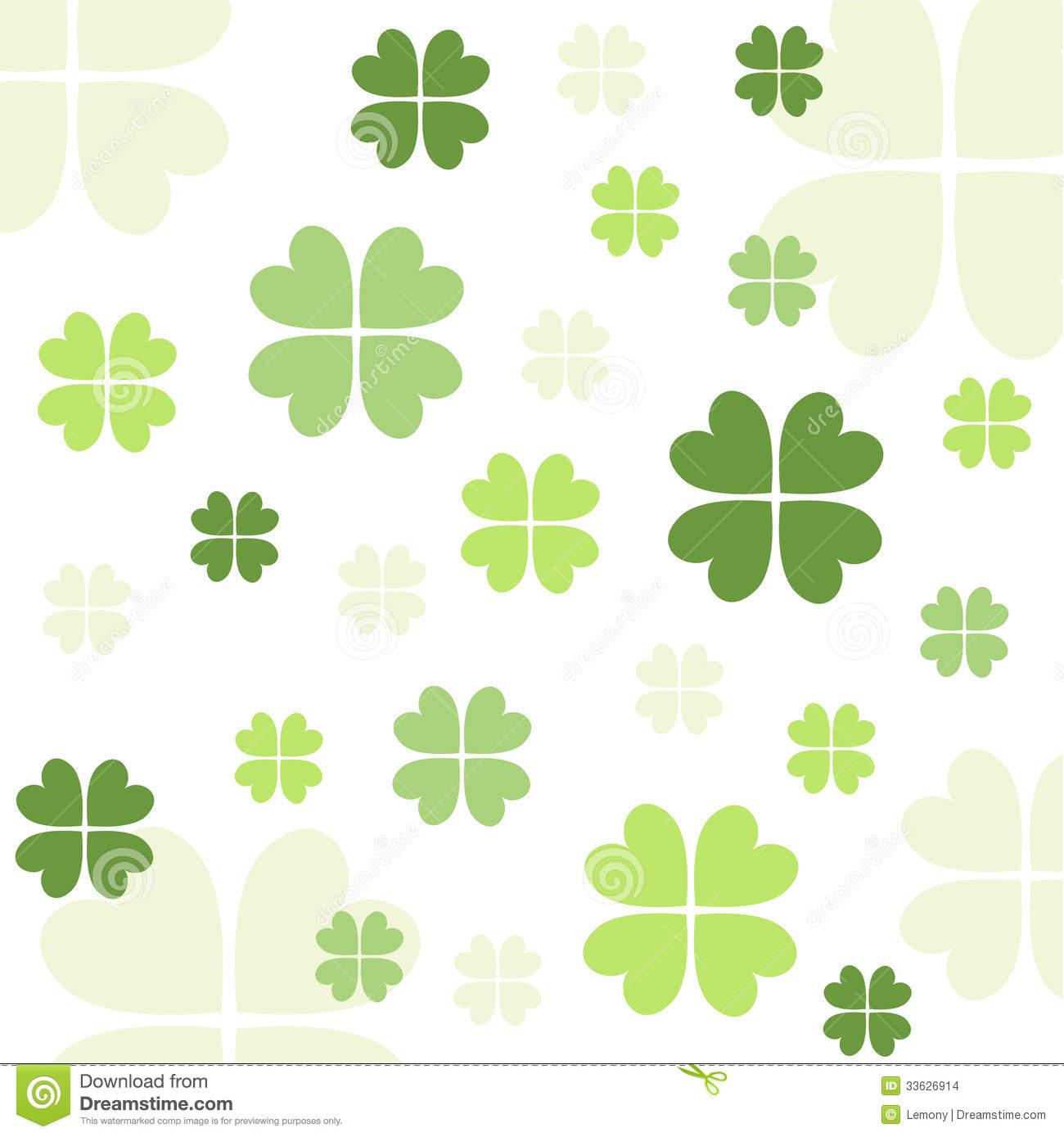 shamrock pattern wallpaper 1366x768 - photo #22