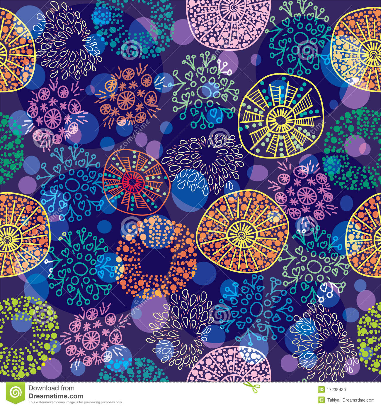 colorful floral background patterns - photo #14