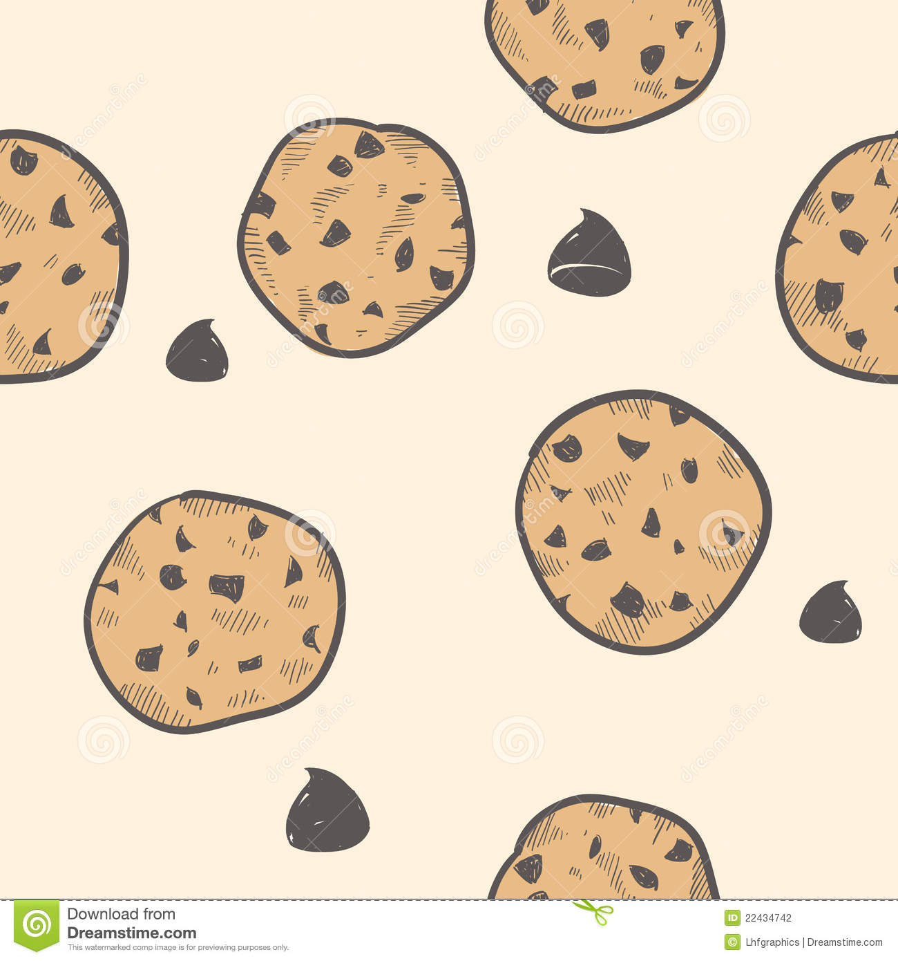 Cookie Background Tile...