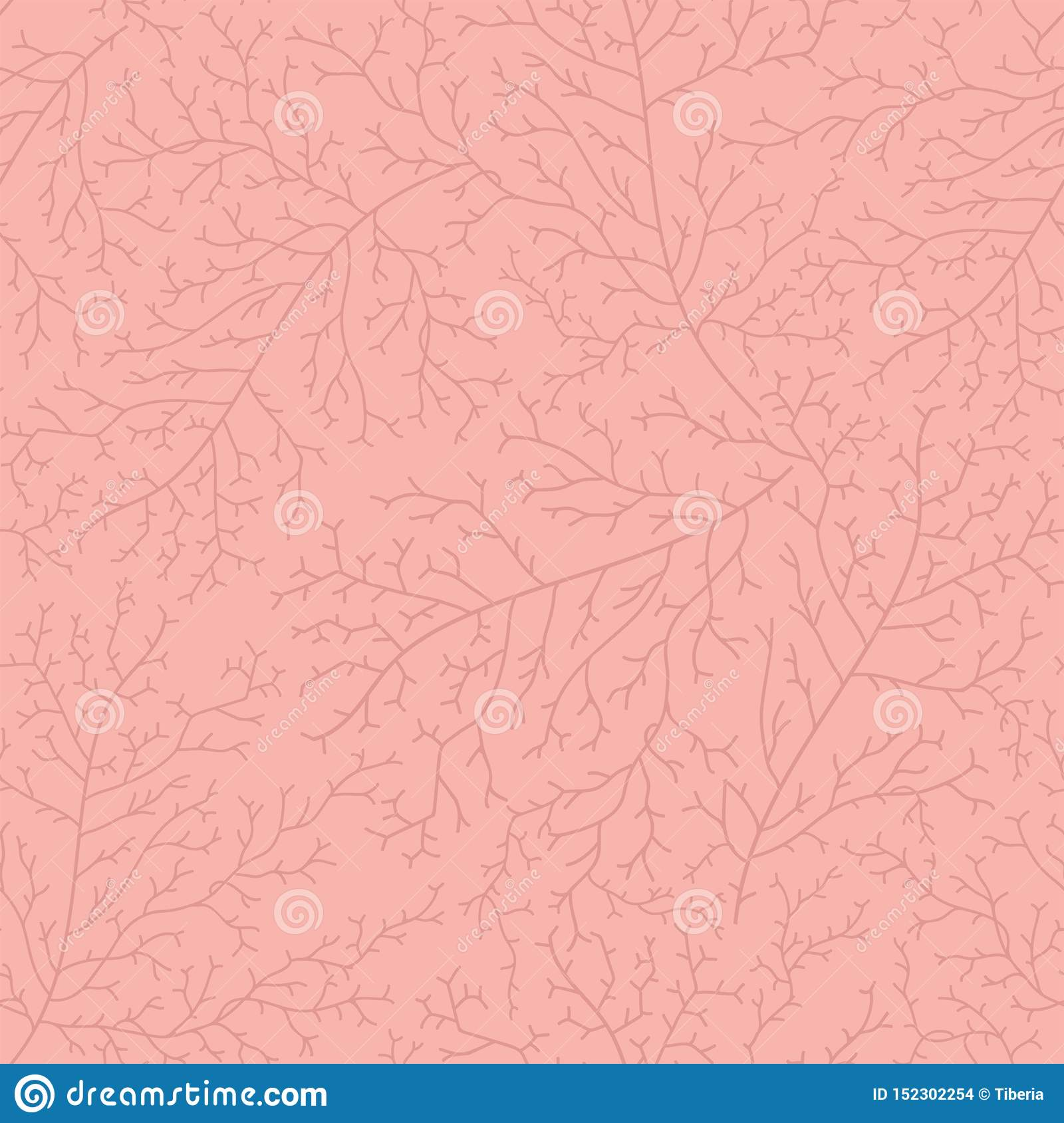 Seamless Coral Pattern Great For Summer Textile Print Or