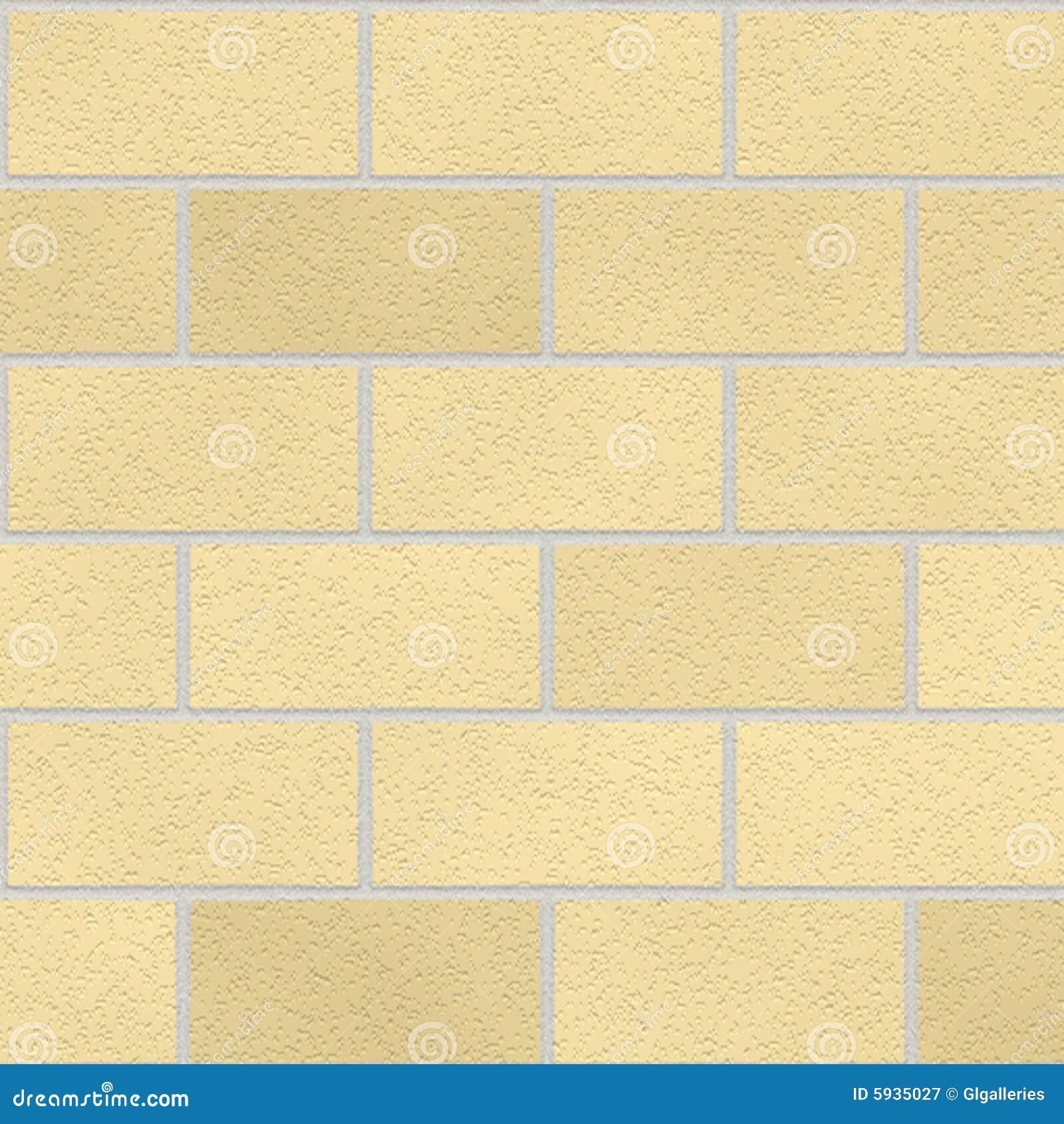 Seamless cream bricks stock illustration. Illustration of wall - 5935027