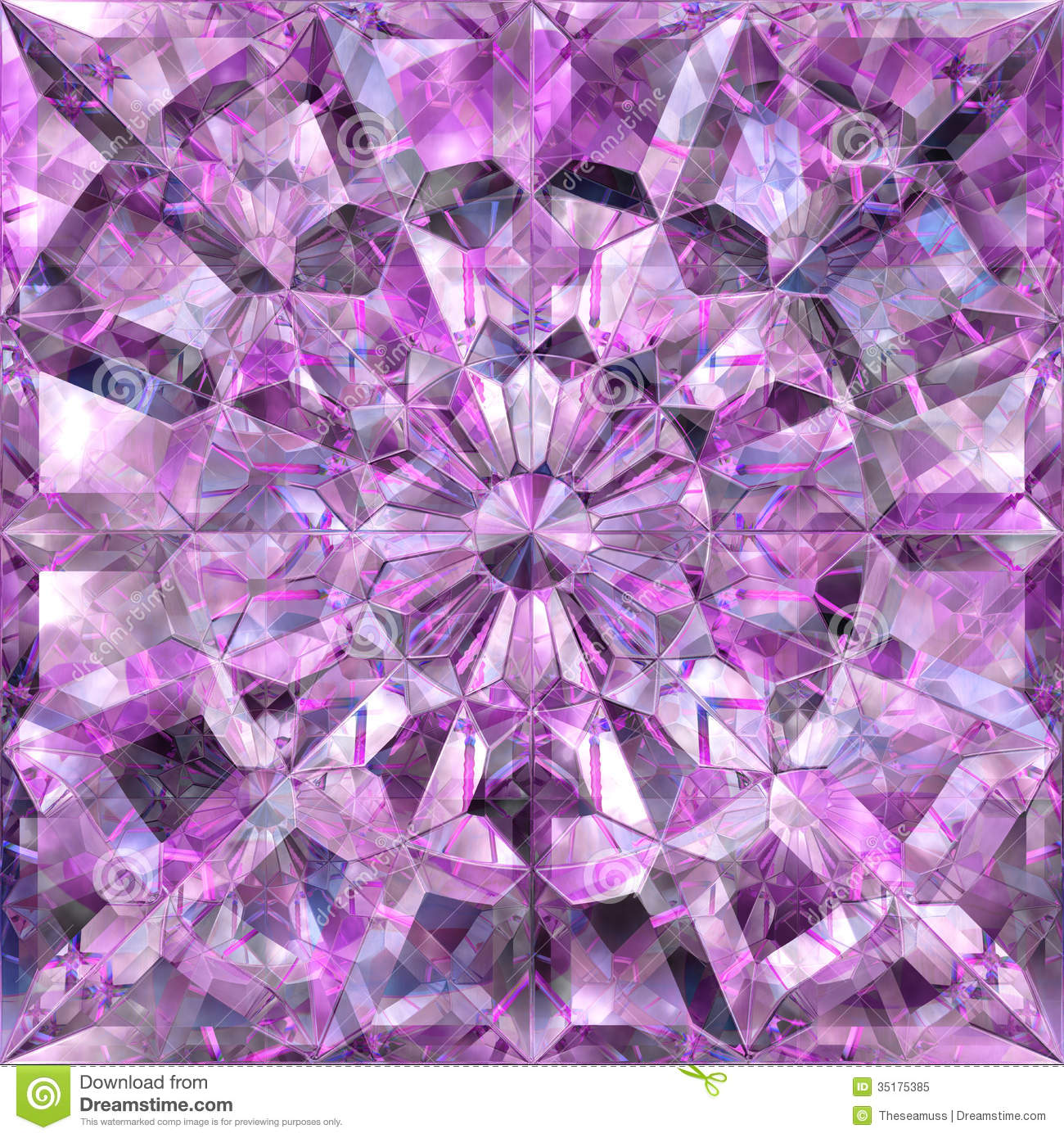 Seamless Crystal Texture Royalty Free Stock Photo - Image: 35175385