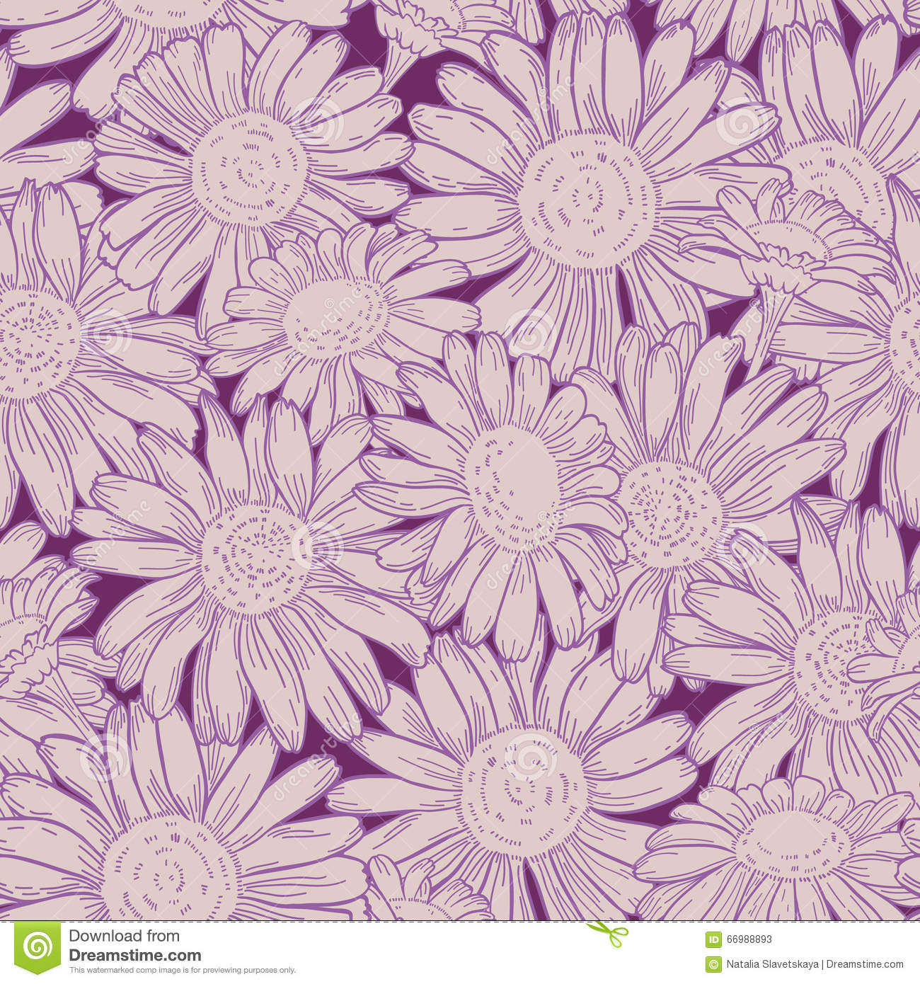 Daisy pattern wallpaper - photo#19