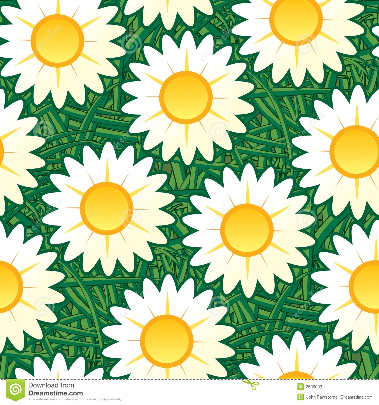 Daisy pattern wallpaper - photo#13