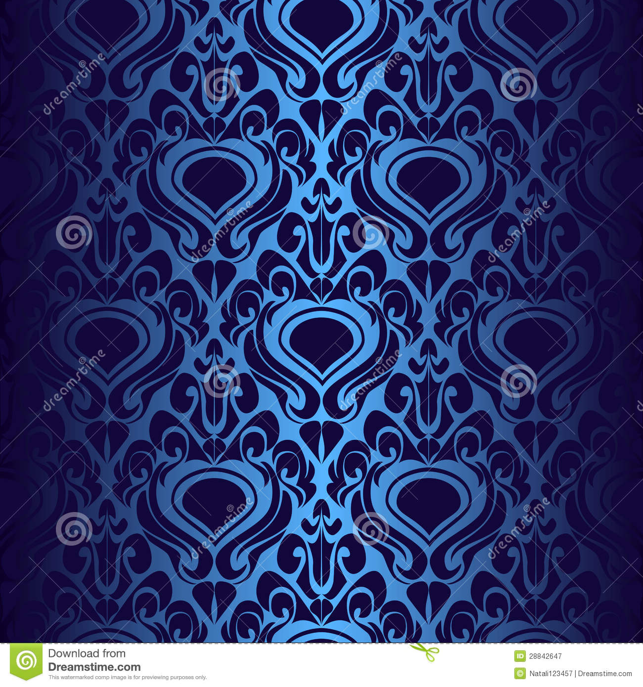 Royalty Free Wallpaper Seamless dark blue wallpaper