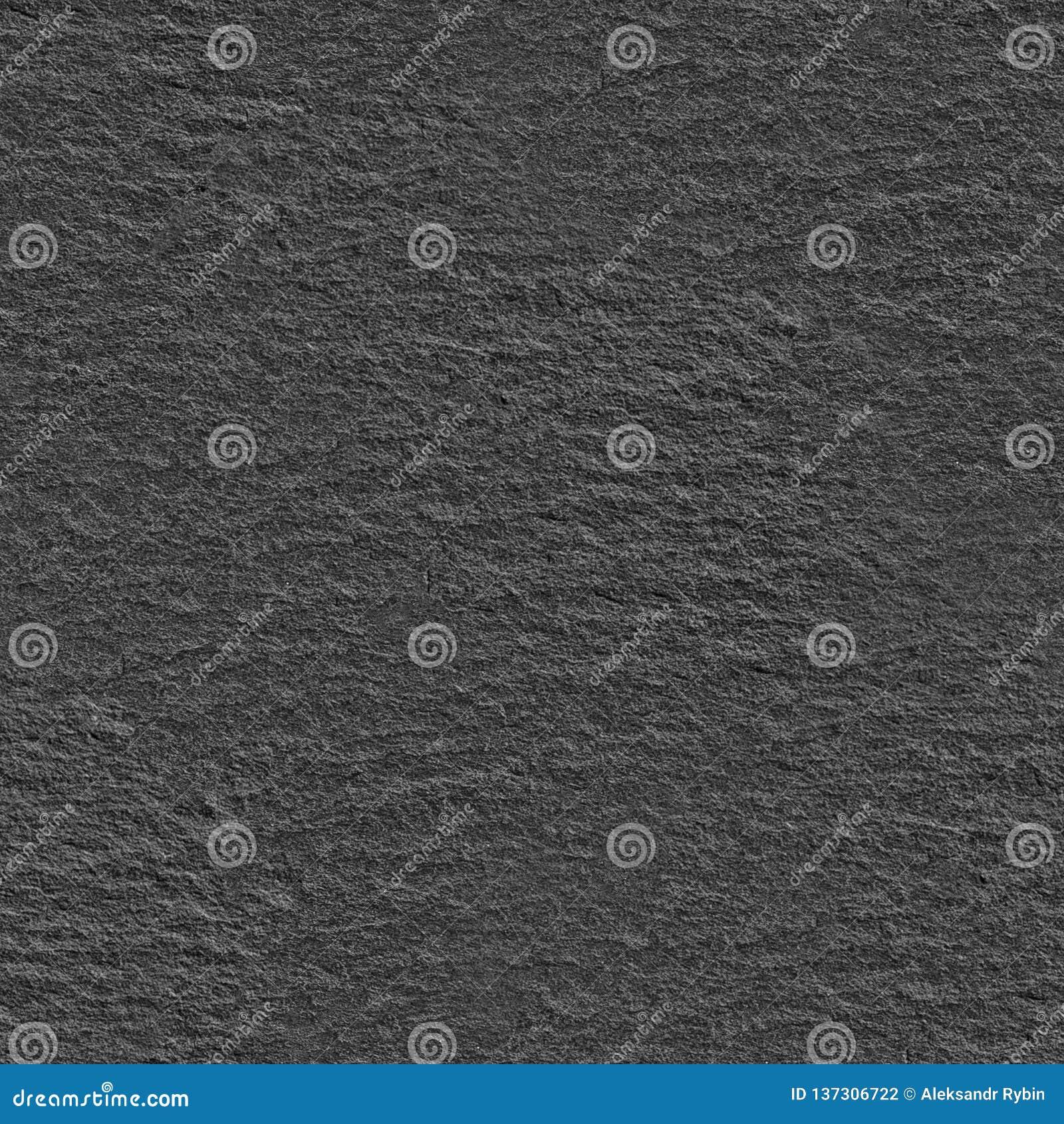 . Seamless Dark Grey Stone Texture  Pattern Close up Background