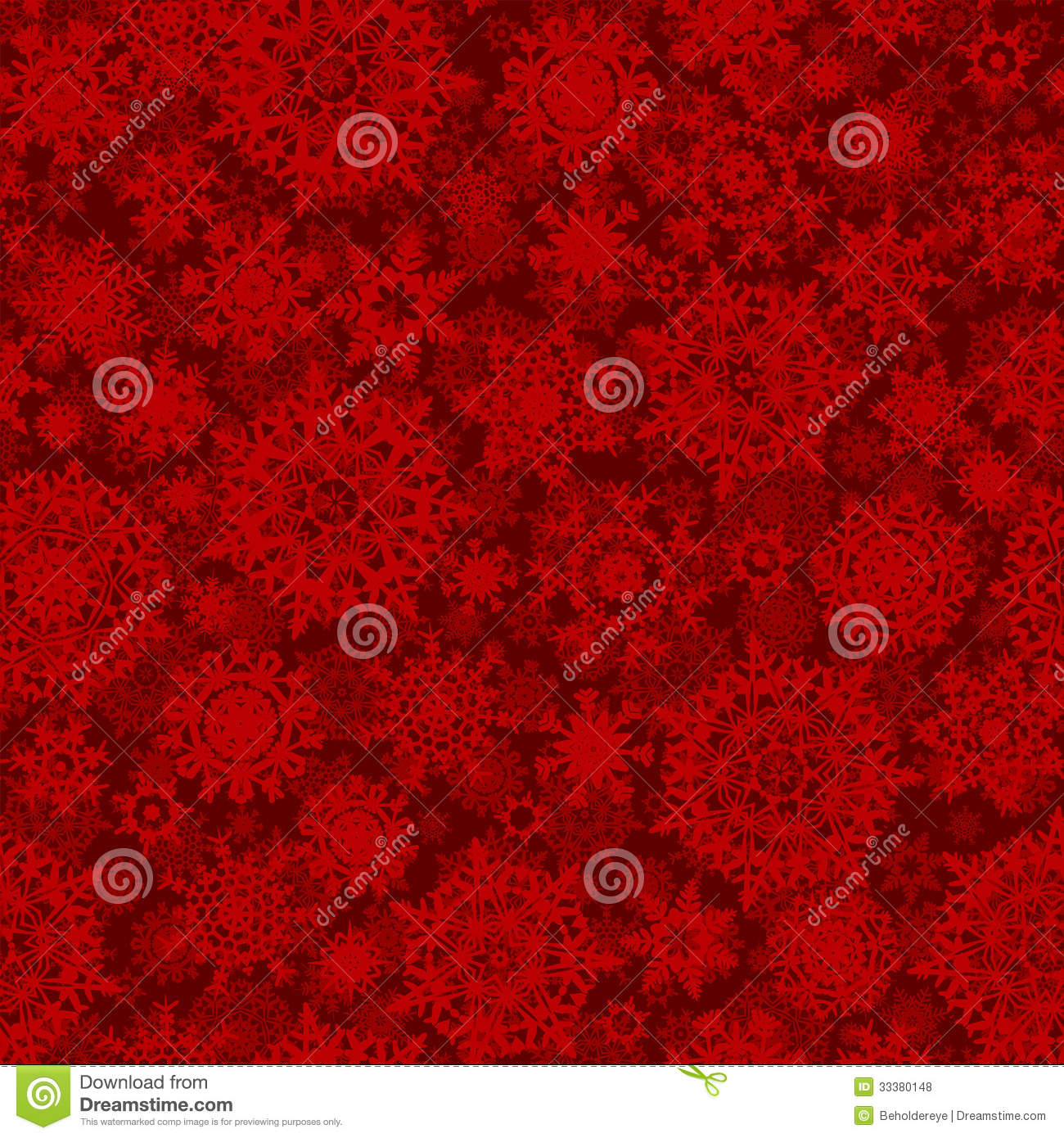 Seamless Deep Red Christmas Texture Pattern Eps 8 Royalty