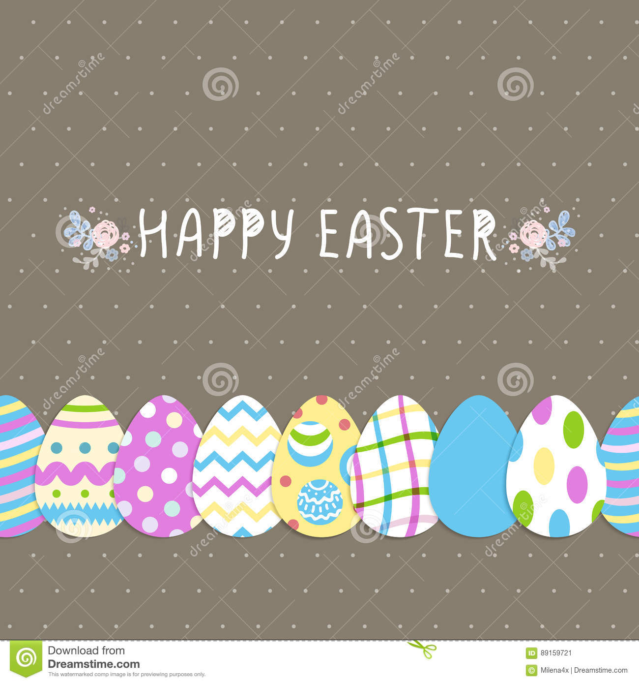seamless eggs bright pattern happy easter cute poster vector seamless eggs bright pattern happy easter cute poster vector illustration flyers