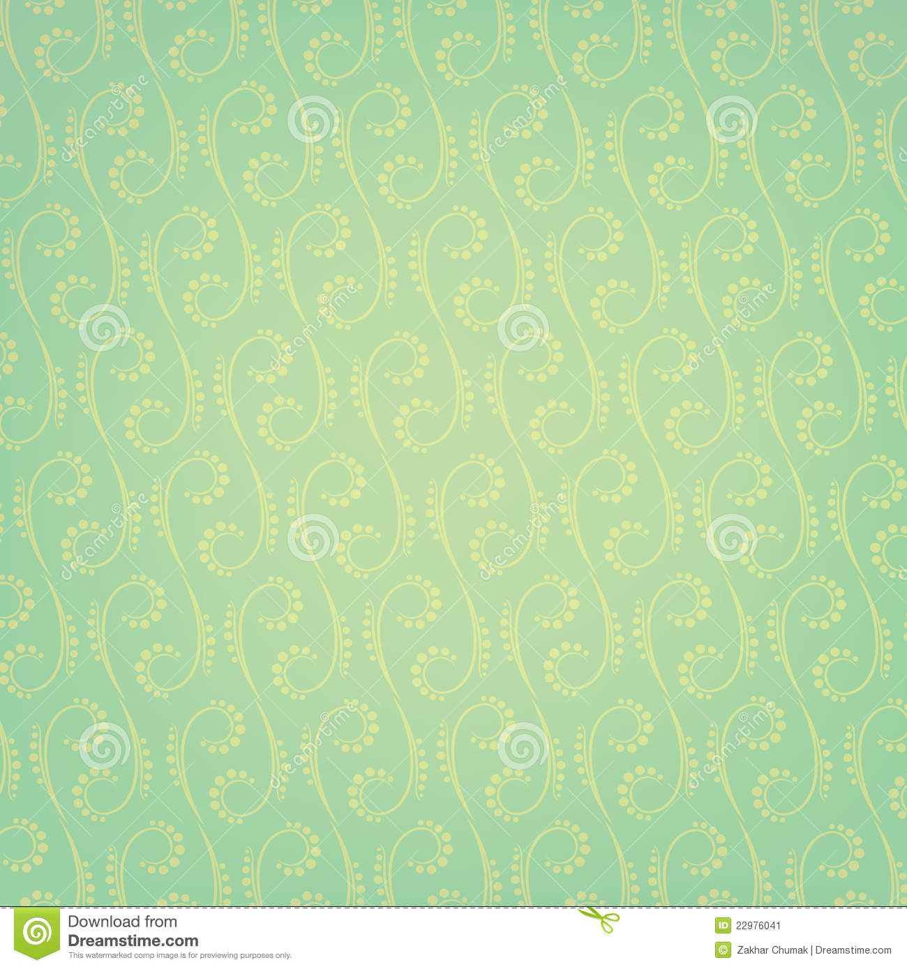 Seamless Exclusive Wallpaper On A Background Stock Image