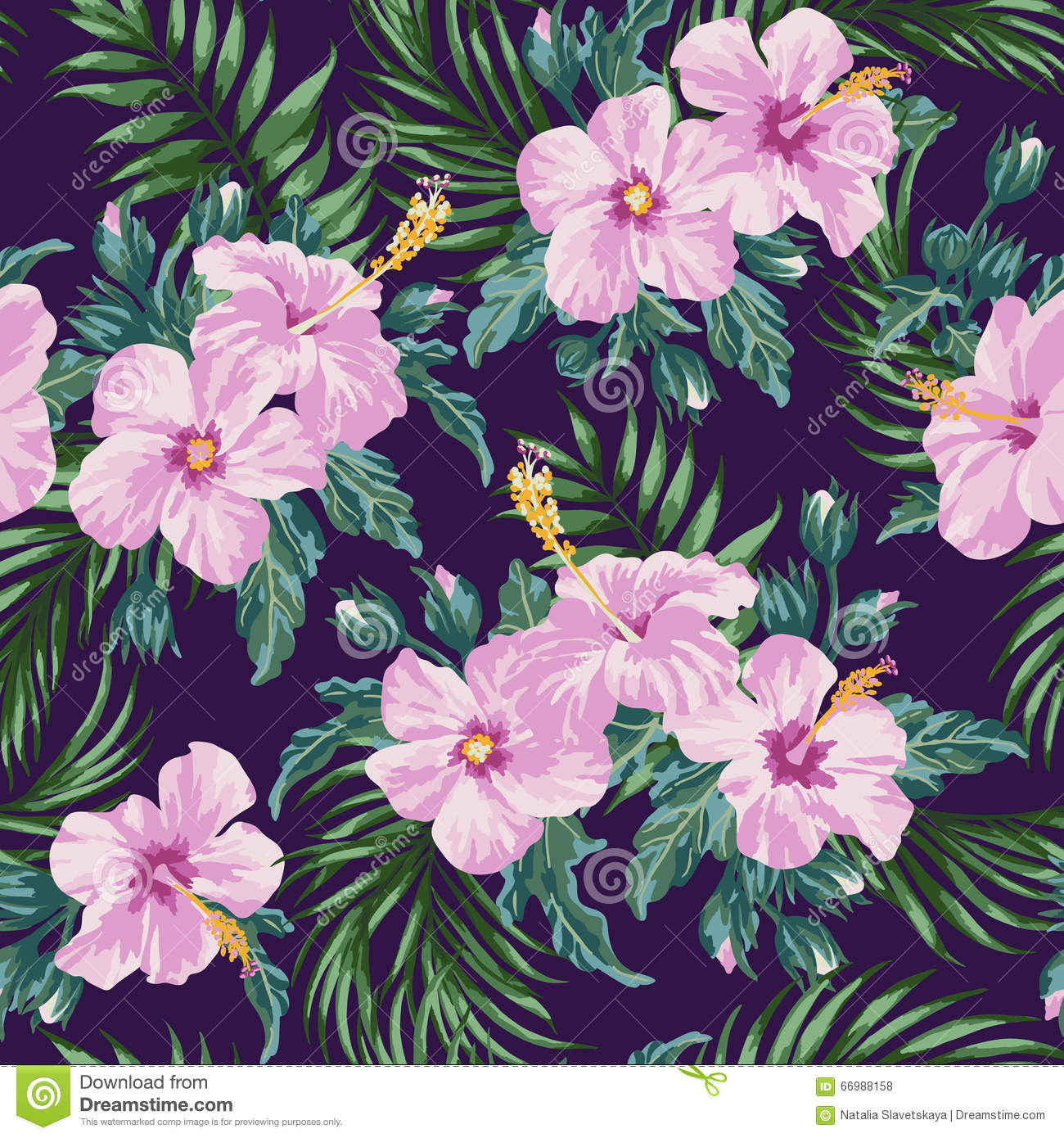 seamless exotic pattern stock vector image 66988158