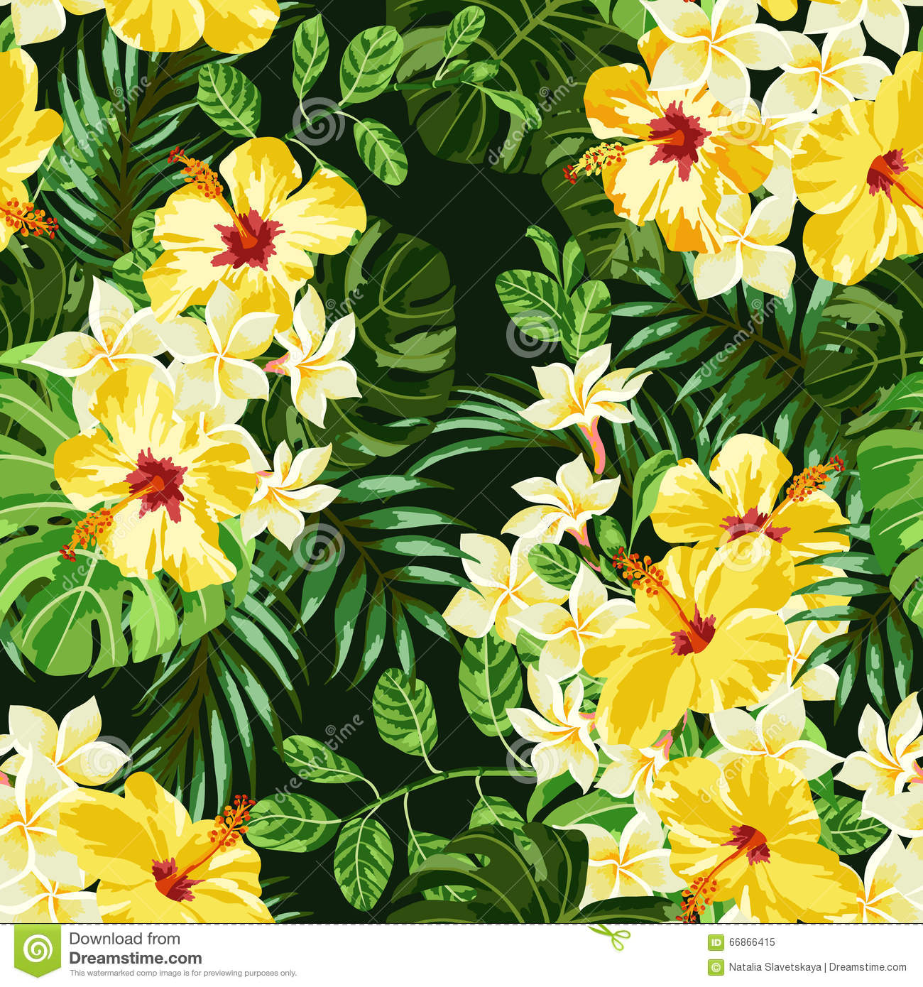 seamless exotic pattern stock vector image 66866415