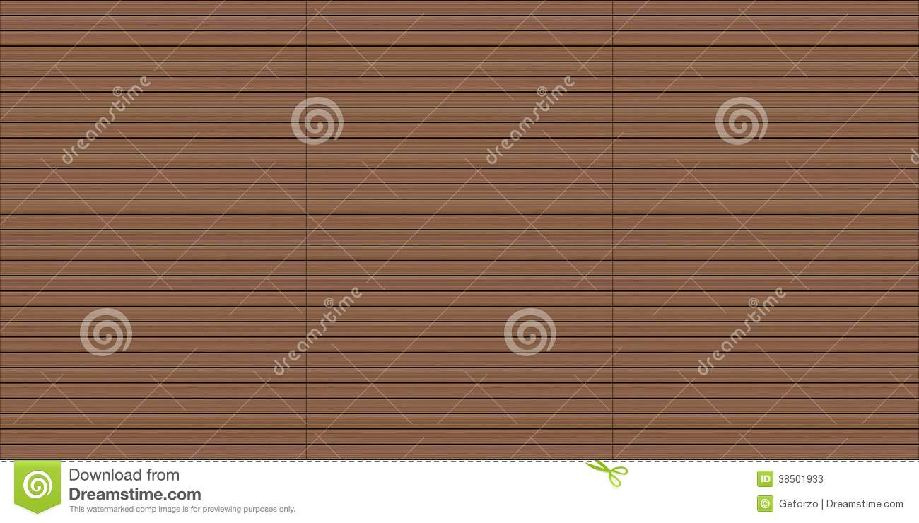 Download Seamless Exterior Wood Decking Texture Stock Illustration