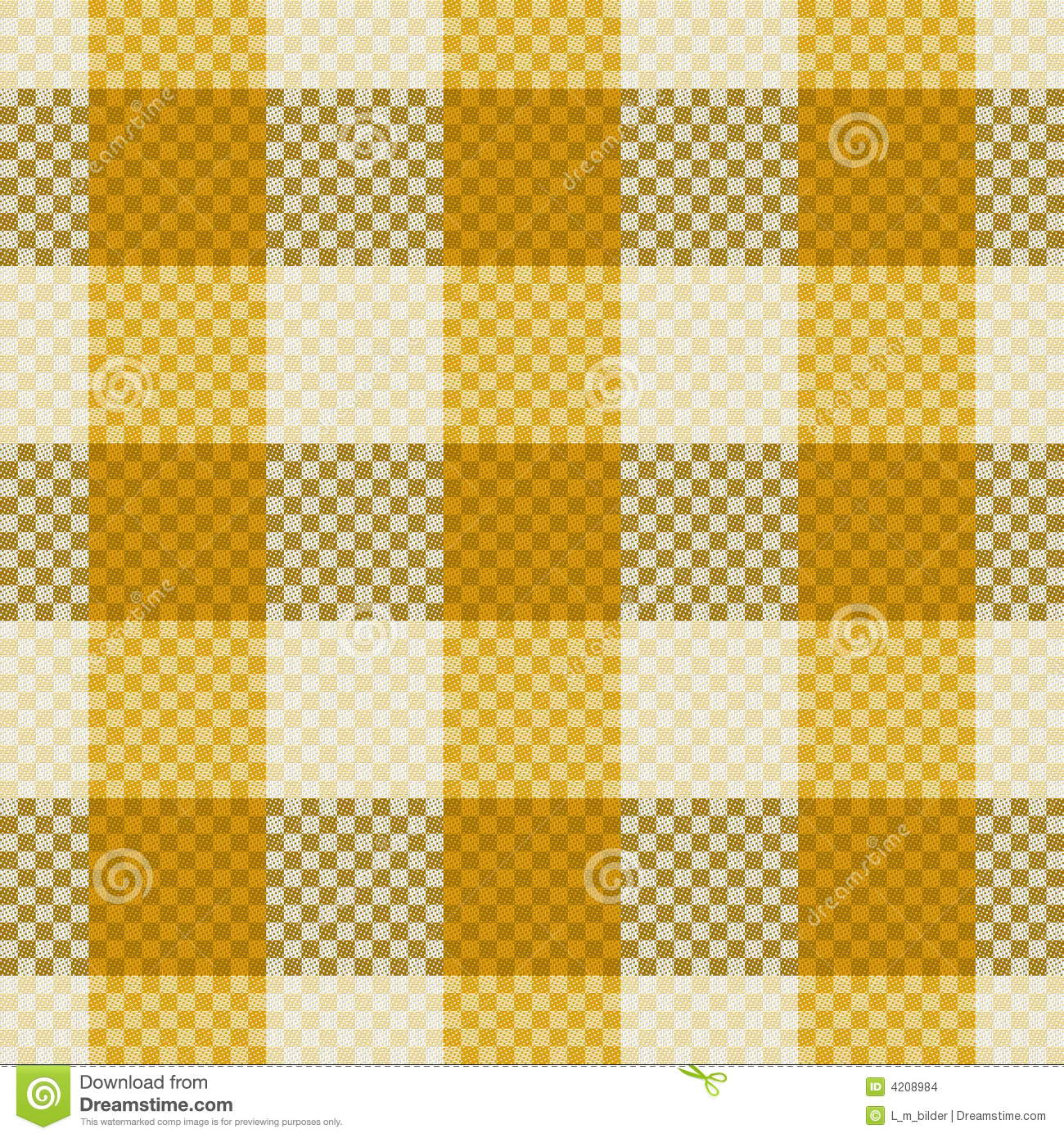 Seamless Fabric Repeat Pattern Stock Illustration Image