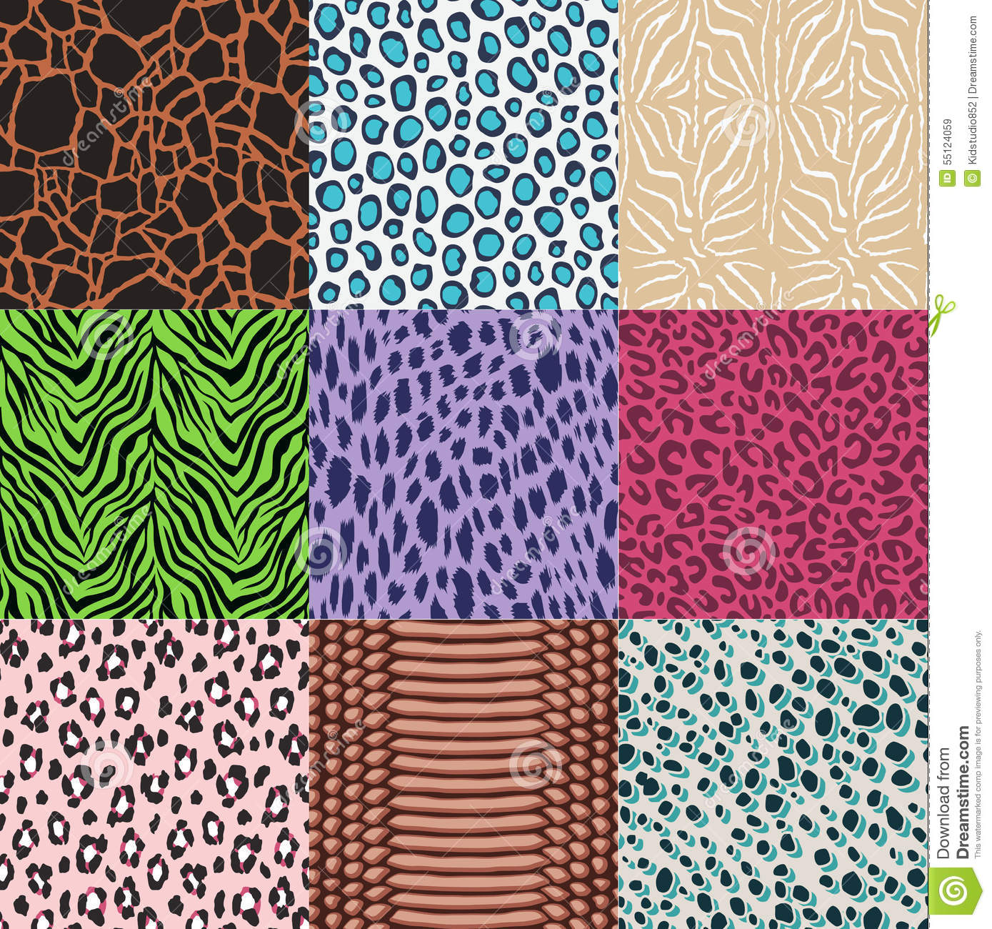 animal skin patterns seamless - photo #42
