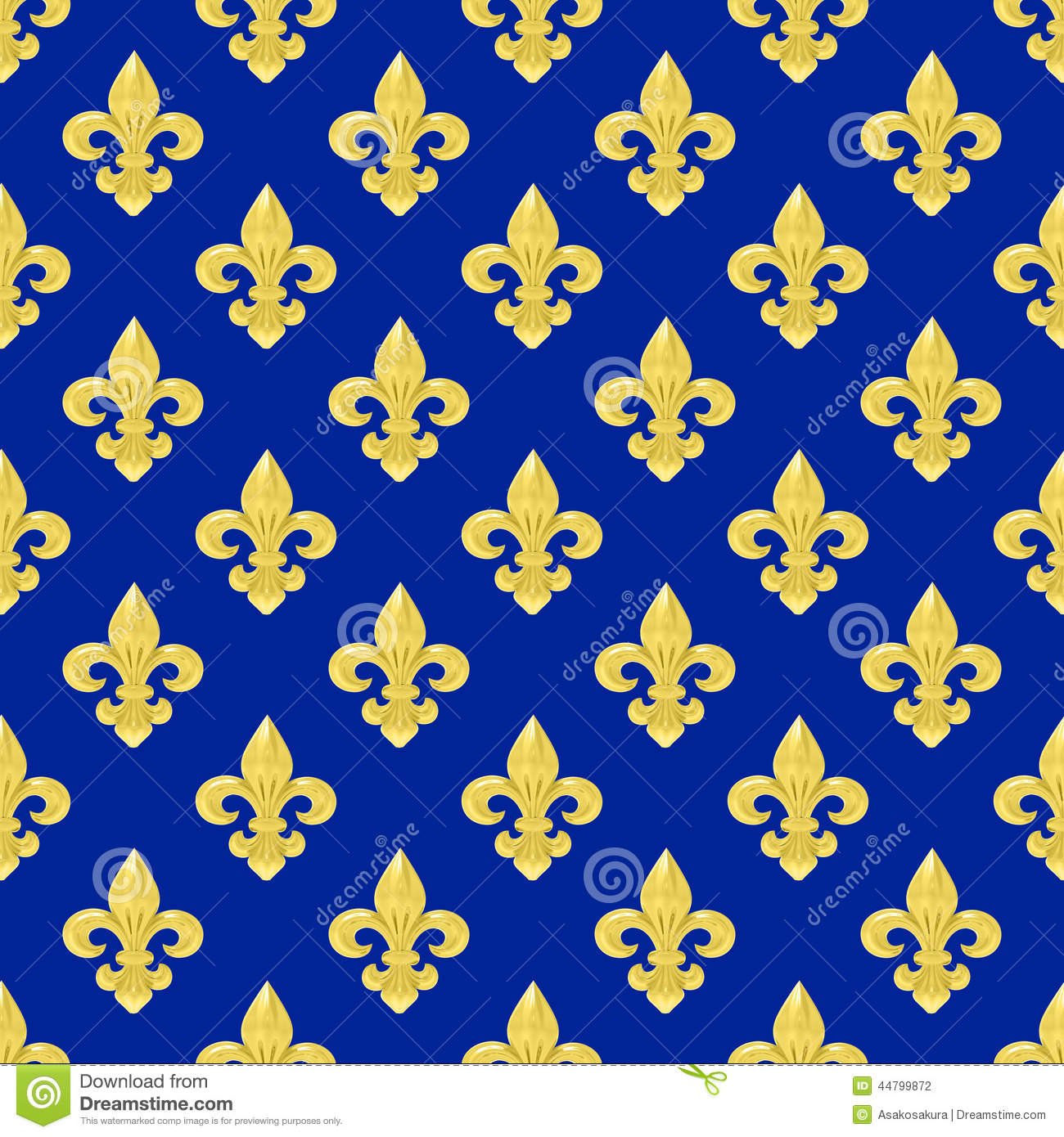 seamless of a fleur de lys repeating pattern stock. Black Bedroom Furniture Sets. Home Design Ideas