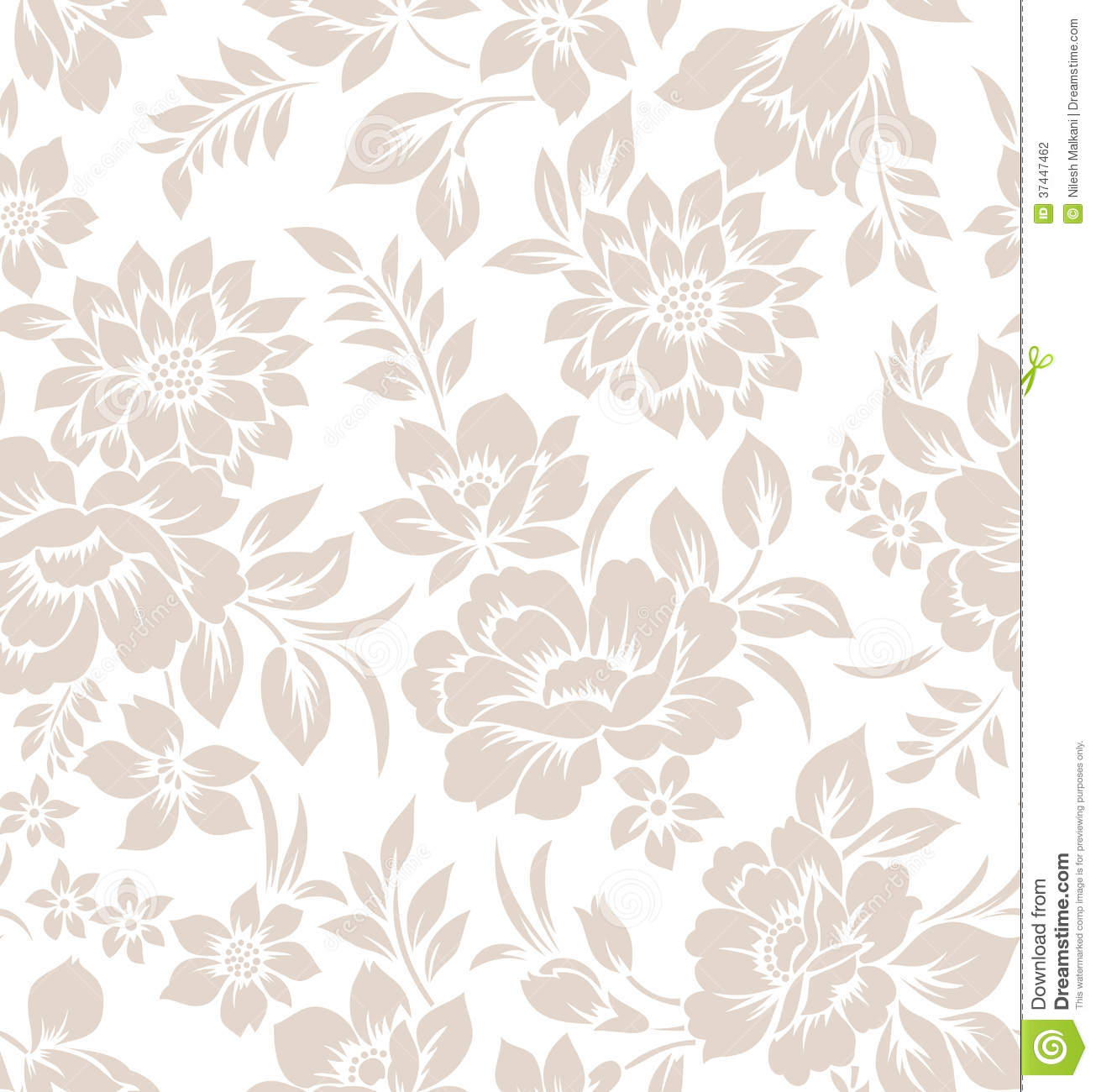 Curtain Texture Seamless seamless floral curtain design stock photography - image: 37447462