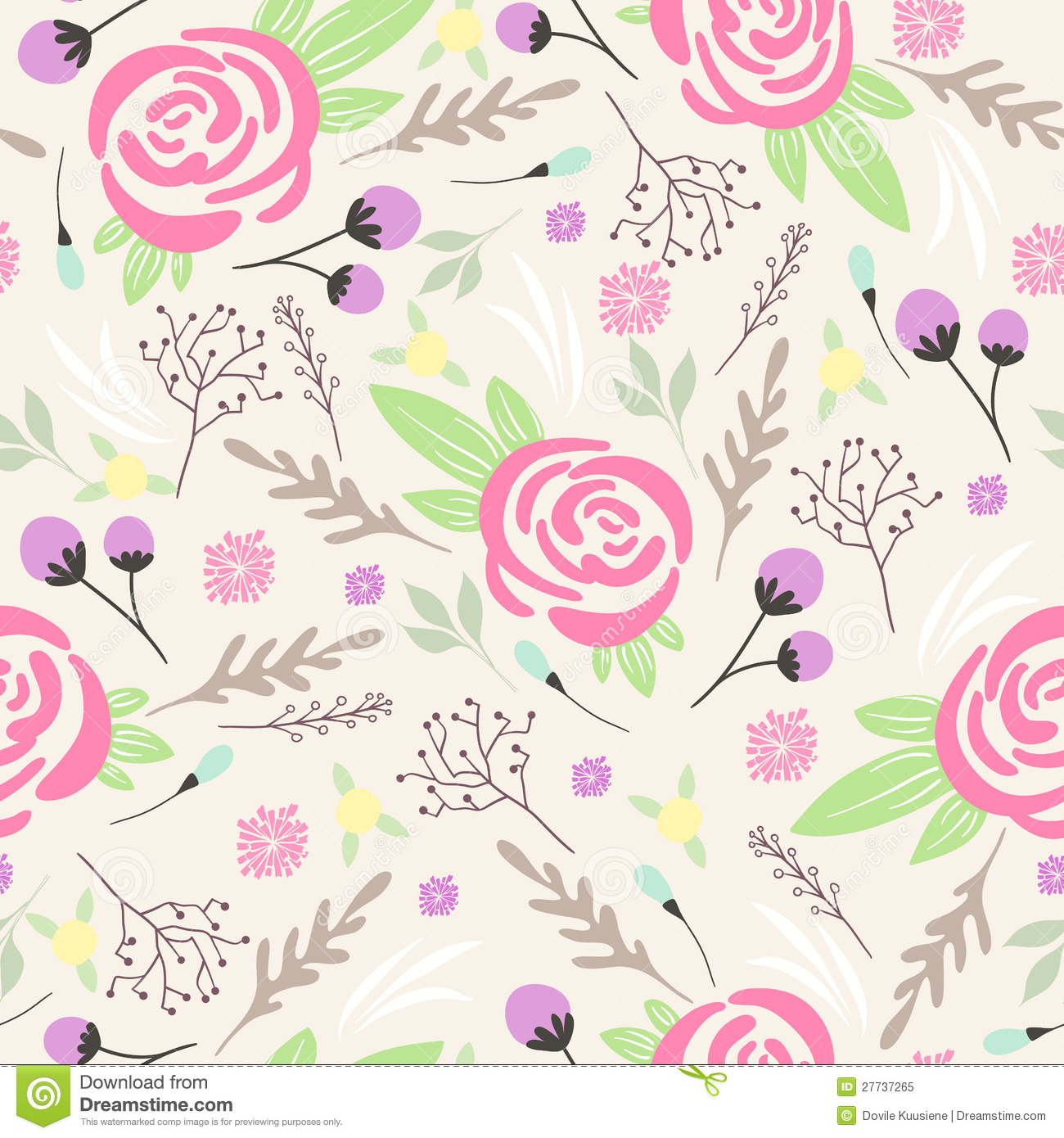 seamless floral background - photo #45