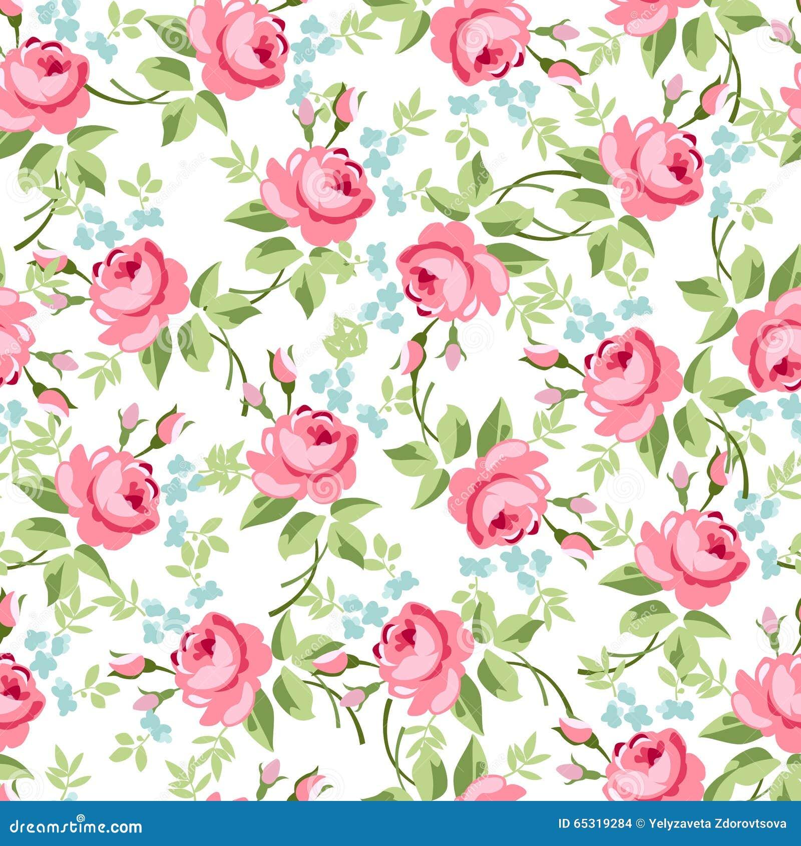 Estampado floral vector free