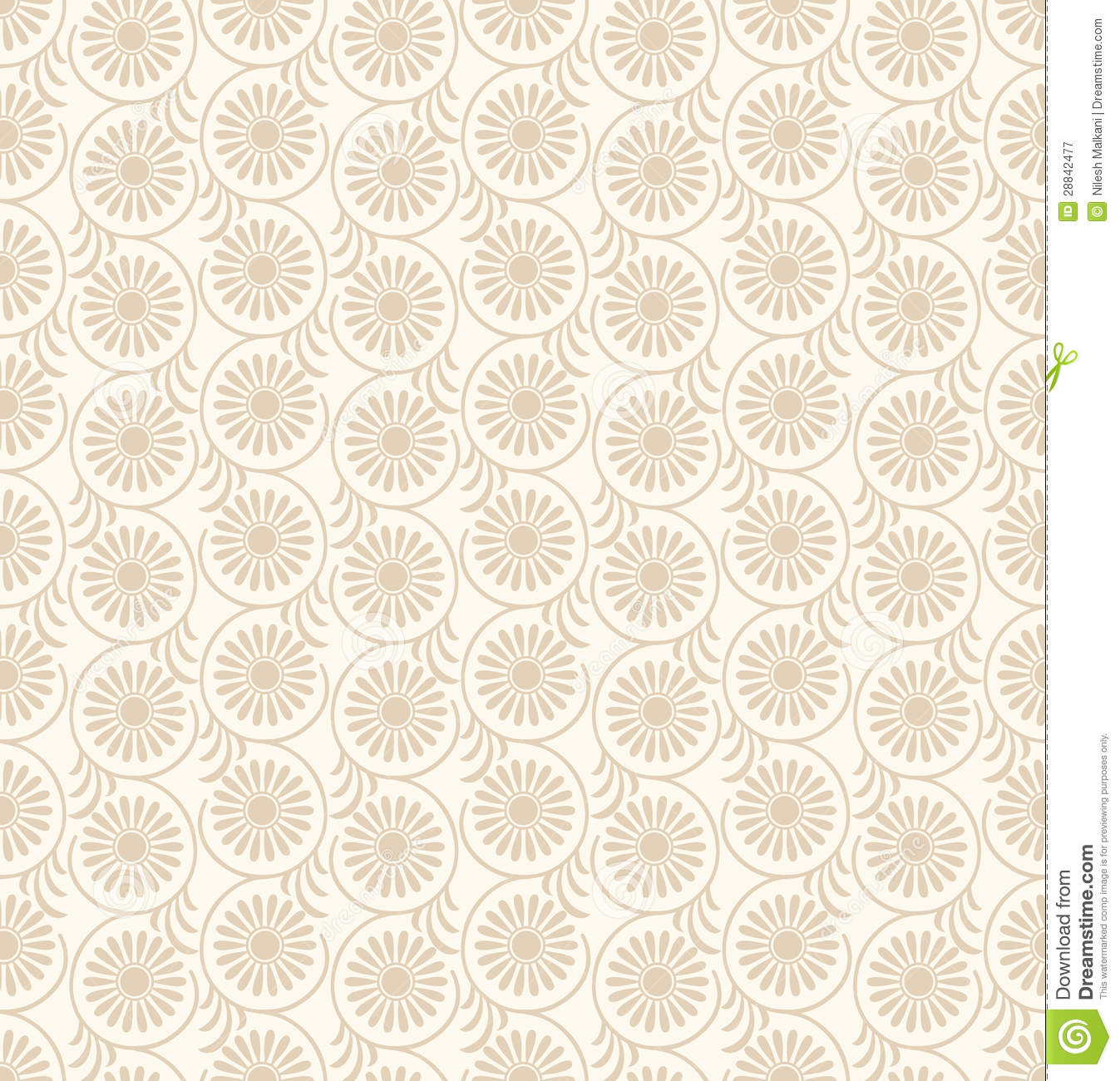 Seamless-Floral Wedding Card Background Royalty Free Stock ...