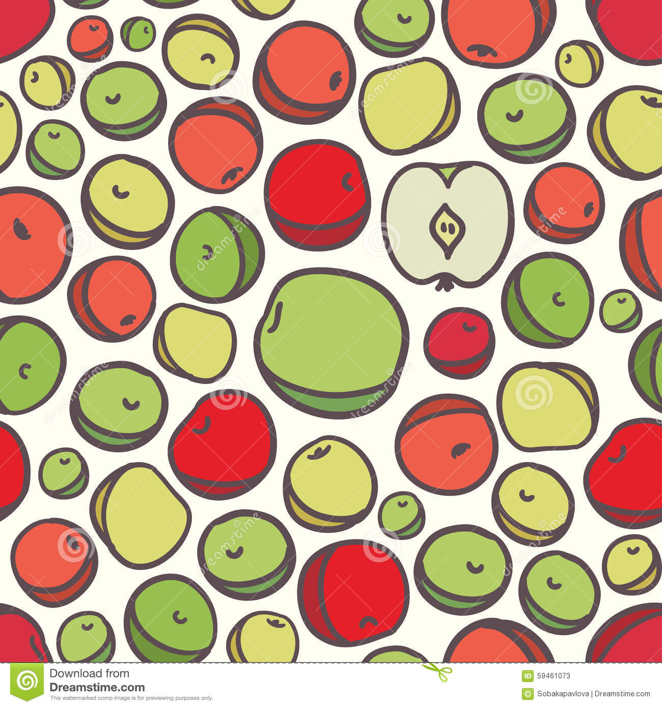 Must see Wallpaper Macbook Pattern - seamless-fruit-apple-pattern-background-vector-59461073  Perfect Image Reference_866551.jpg