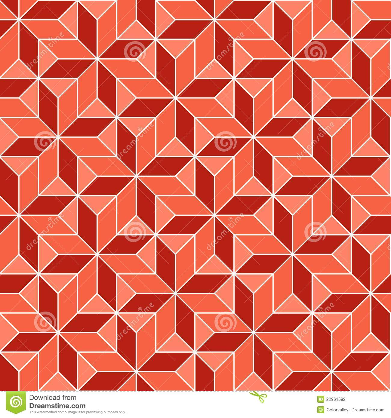 Seamless Geometric 3d Abstract Pattern Stock Photography ...
