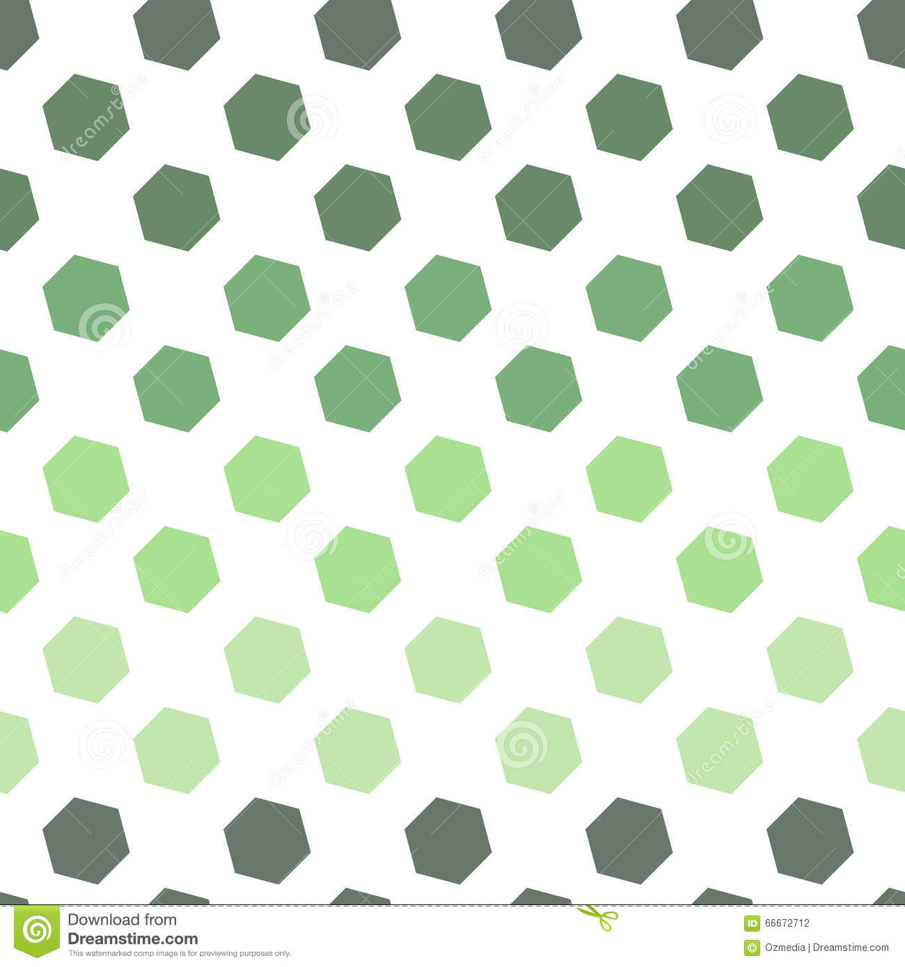 Seamless Geometric Abstract Pattern from Colorful Hexagons