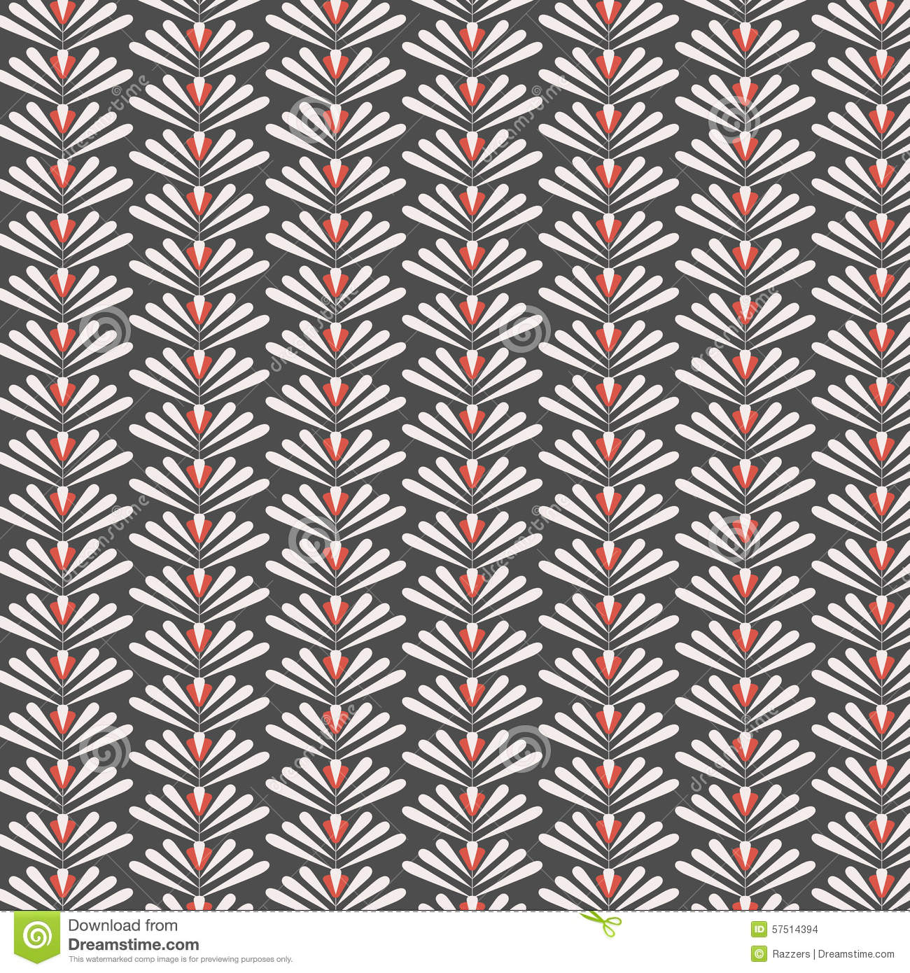 seamless geometric color tile vector pattern background