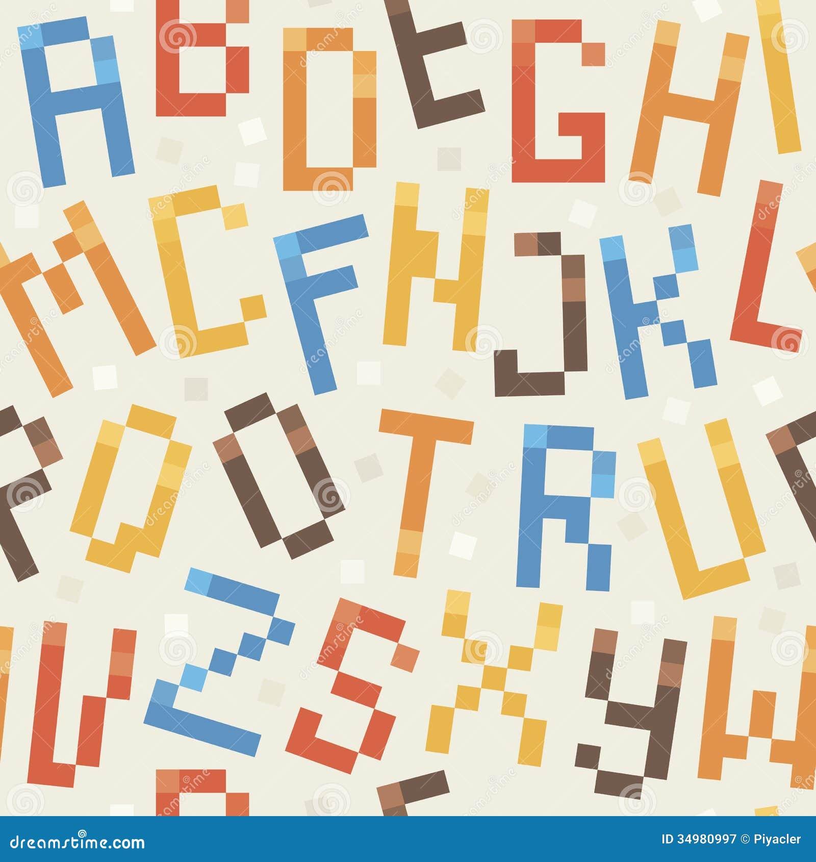 Pattern Font Amazing Inspiration