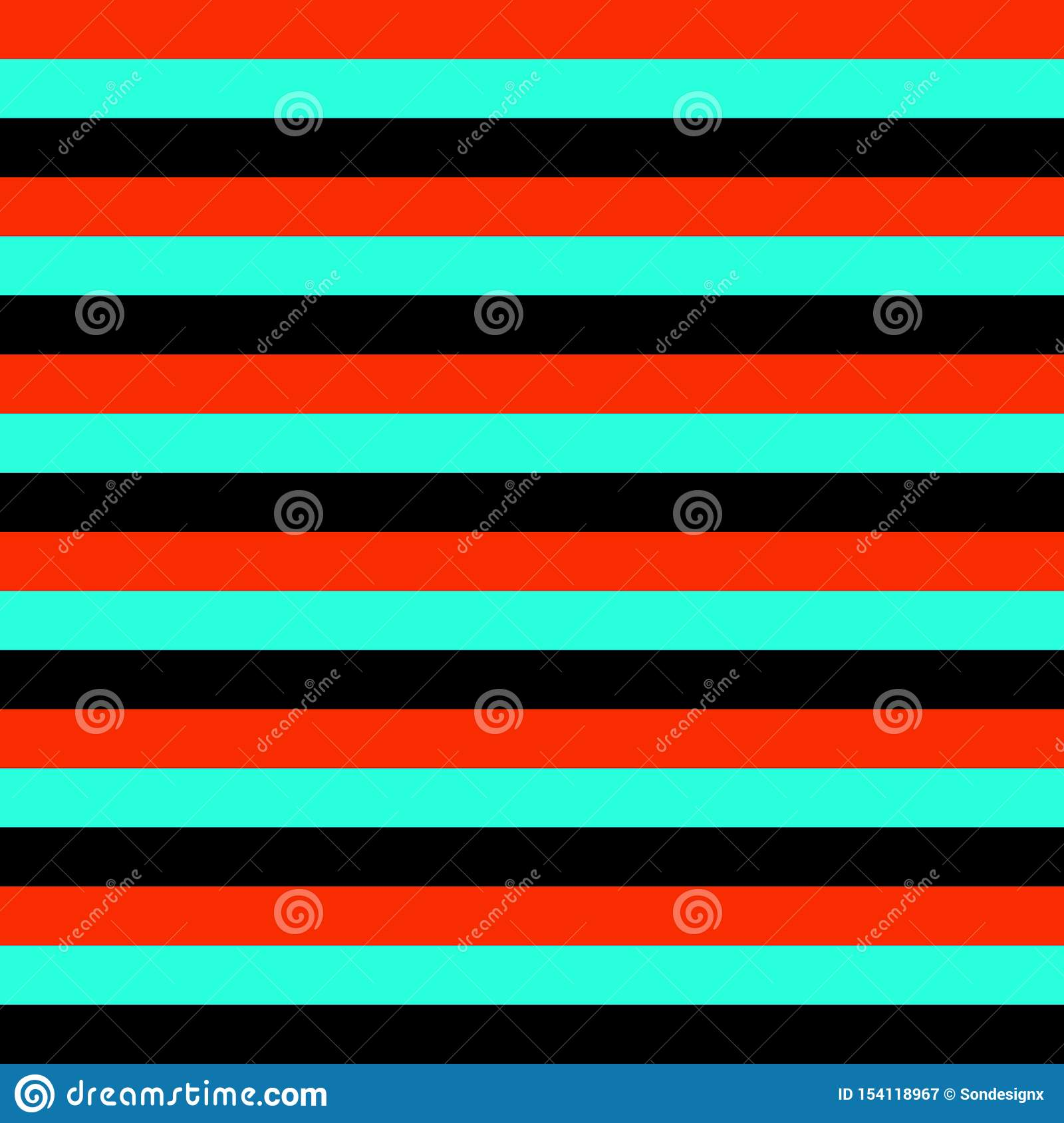 Seamless geometric stripes lines pattern vector background colorful horizontal design vintage retro abstract art black turquoise r