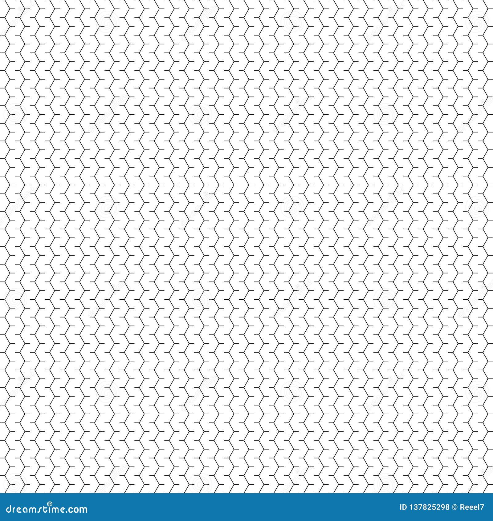 Seamless geometrisk modell för vektor Abstrakt begrepp fodrar texturerar Svartvit bakgrund Monokrom design