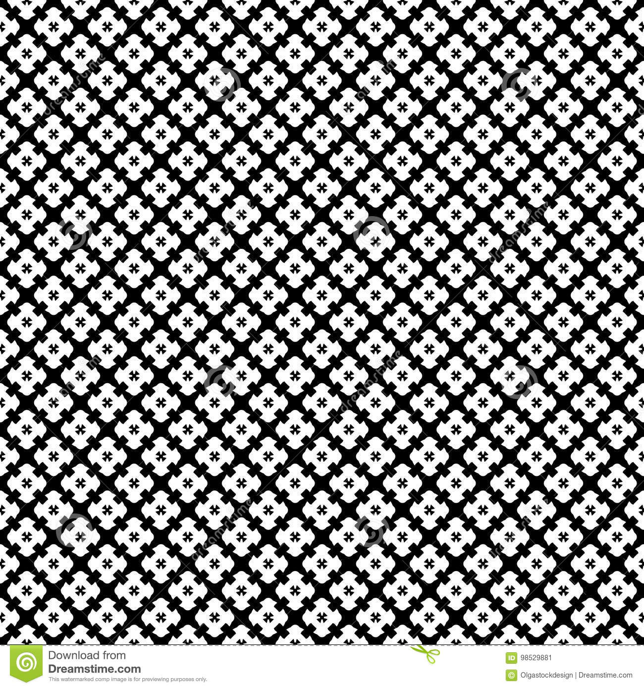 Seamless Gothic Pattern Texture