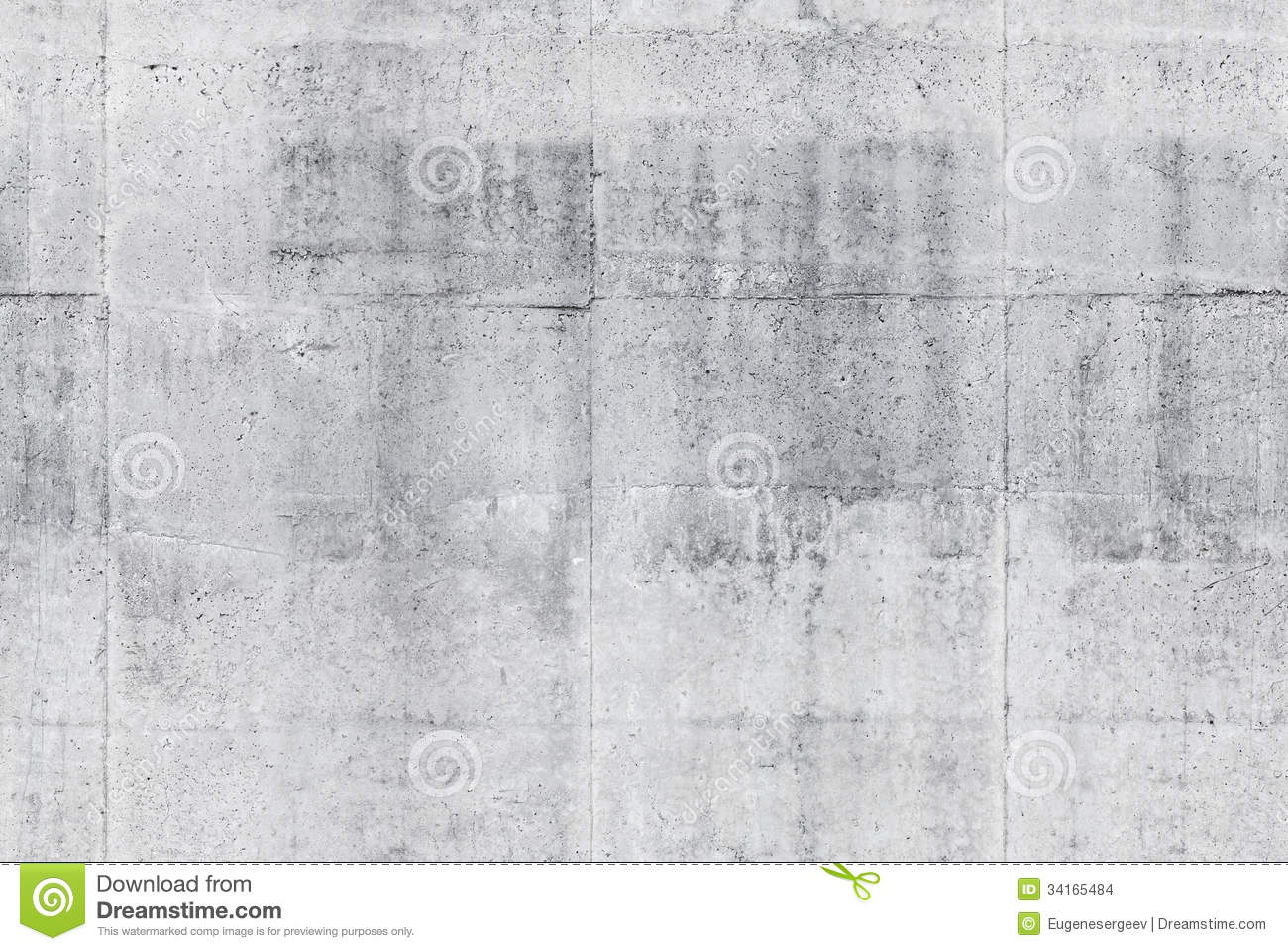 Download Seamless Gray Concrete Wall Background Texture Stock Photo - Image of background, ordinary: 34165484
