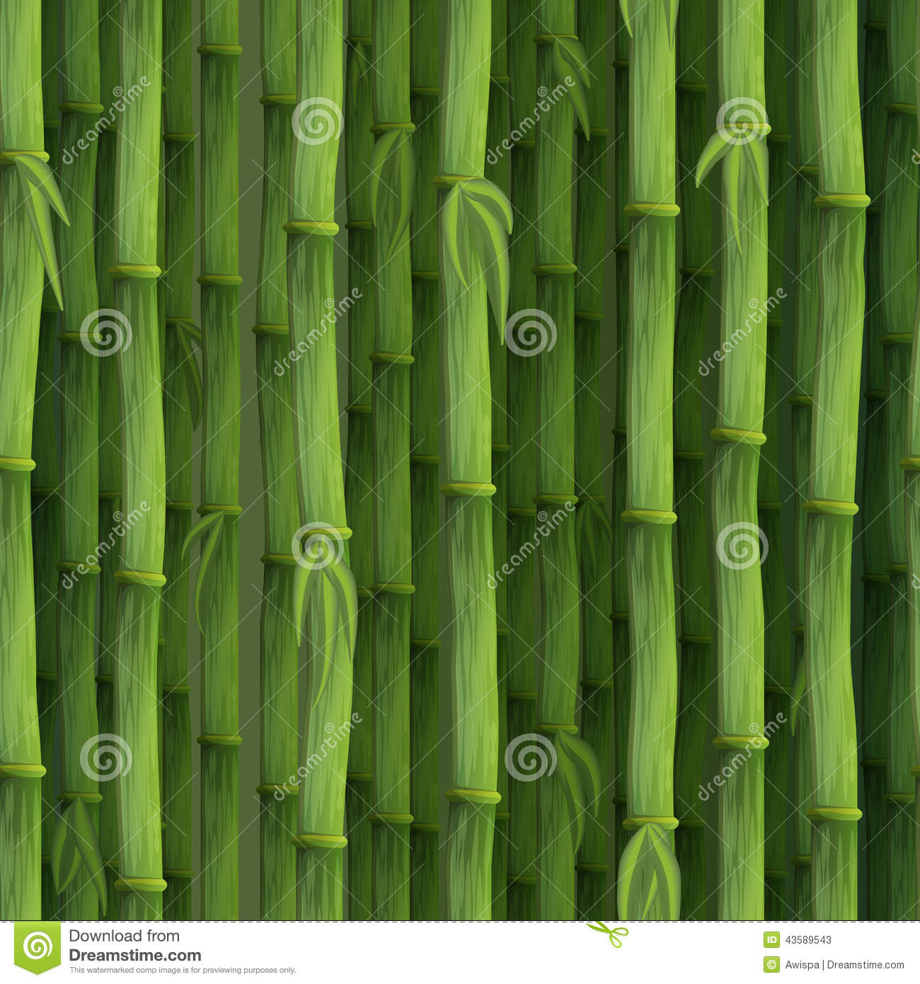 seamless green bamboo background stock vector illustration of