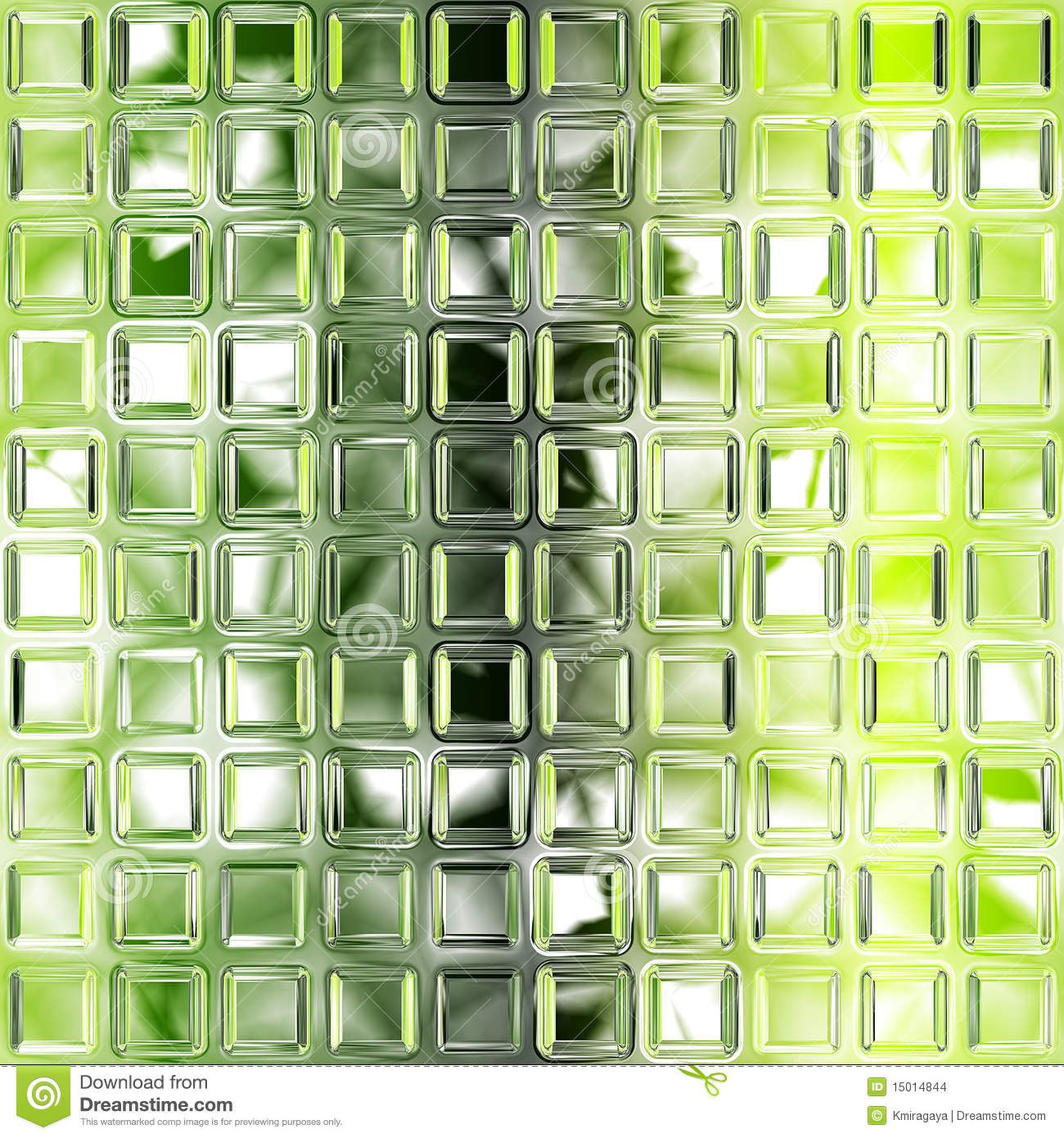 Seamless Green Glass Tiles Texture Stock Images Image