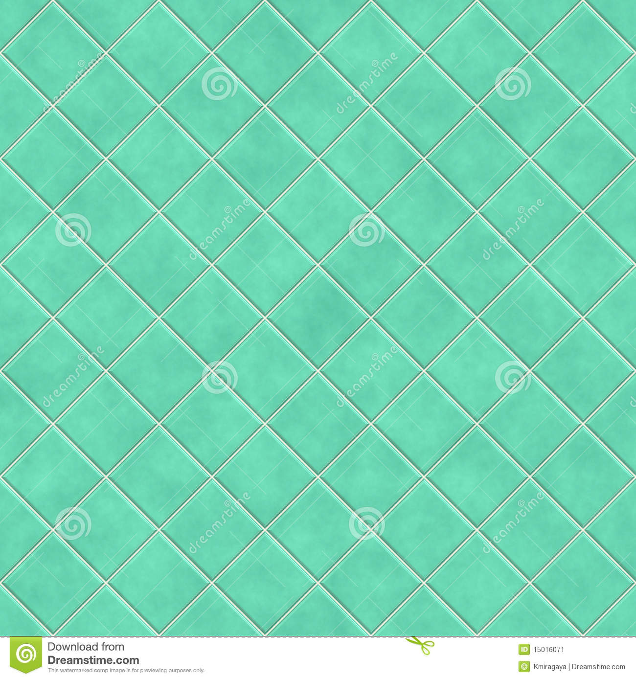 Seamless Green Tiles Texture Background Stock Image Image 15016071