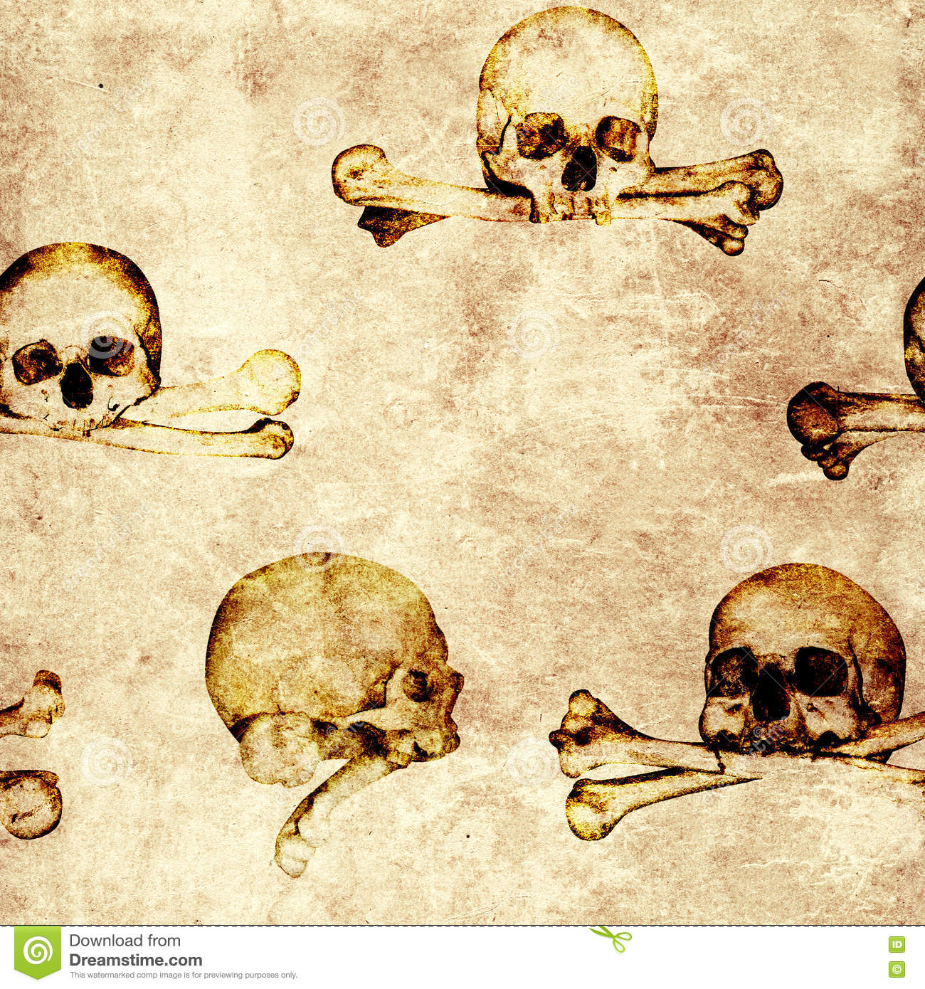 Cool Wallpaper Halloween Grunge - seamless-grunge-halloween-background-human-skulls-old-paper-texture-endless-texture-can-be-used-wallpaper-pattern-79724093  Collection_528212.jpg