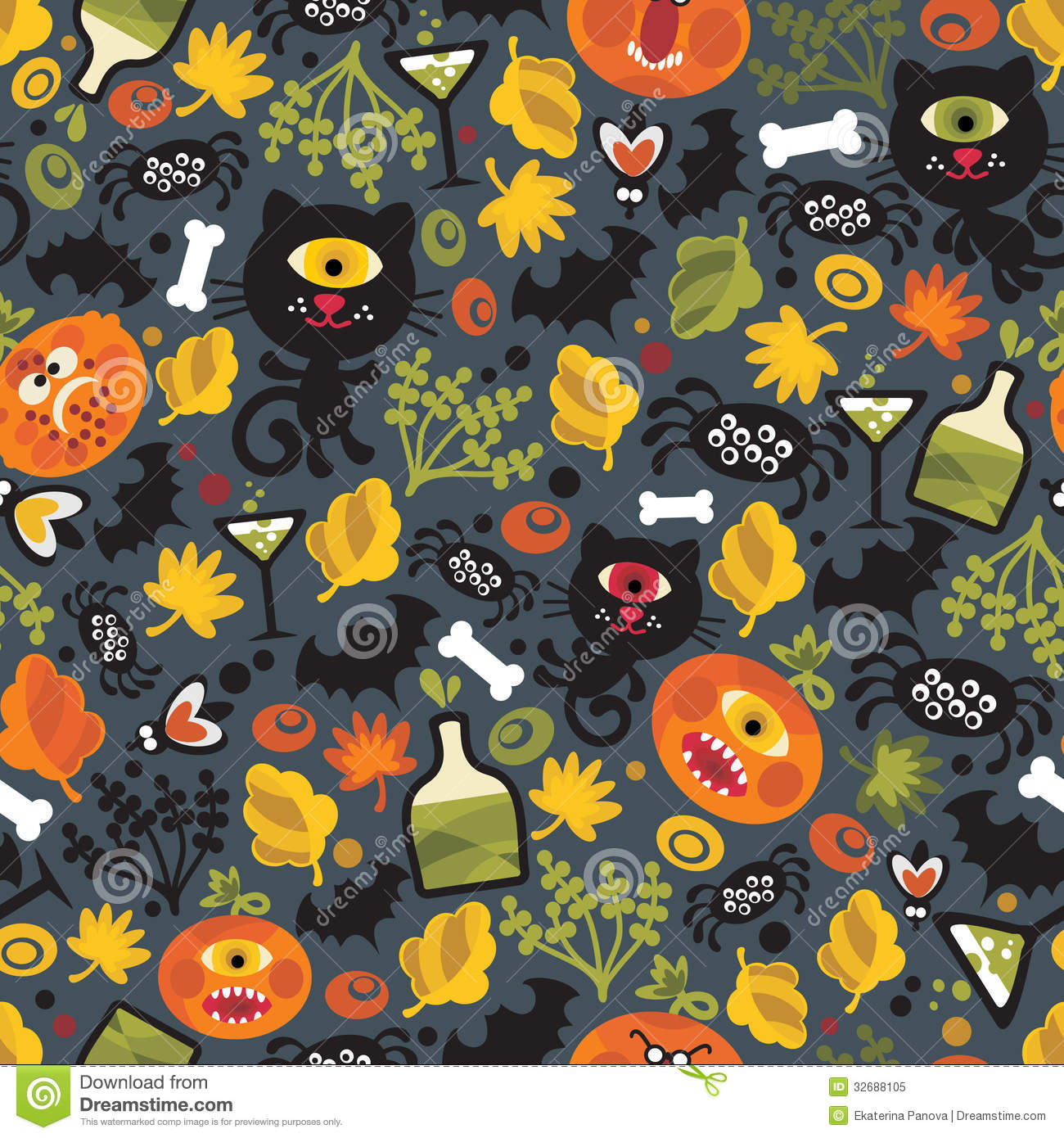 cute halloween spider clipart