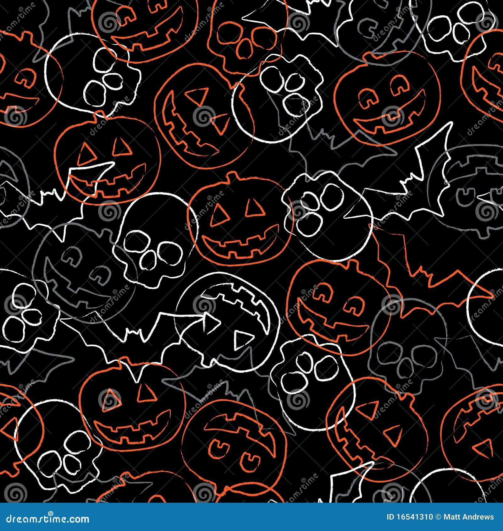 seamless halloween pattern stock photo image 16541310 cute pumpkin clipart black and white cute pumpkin clipart png