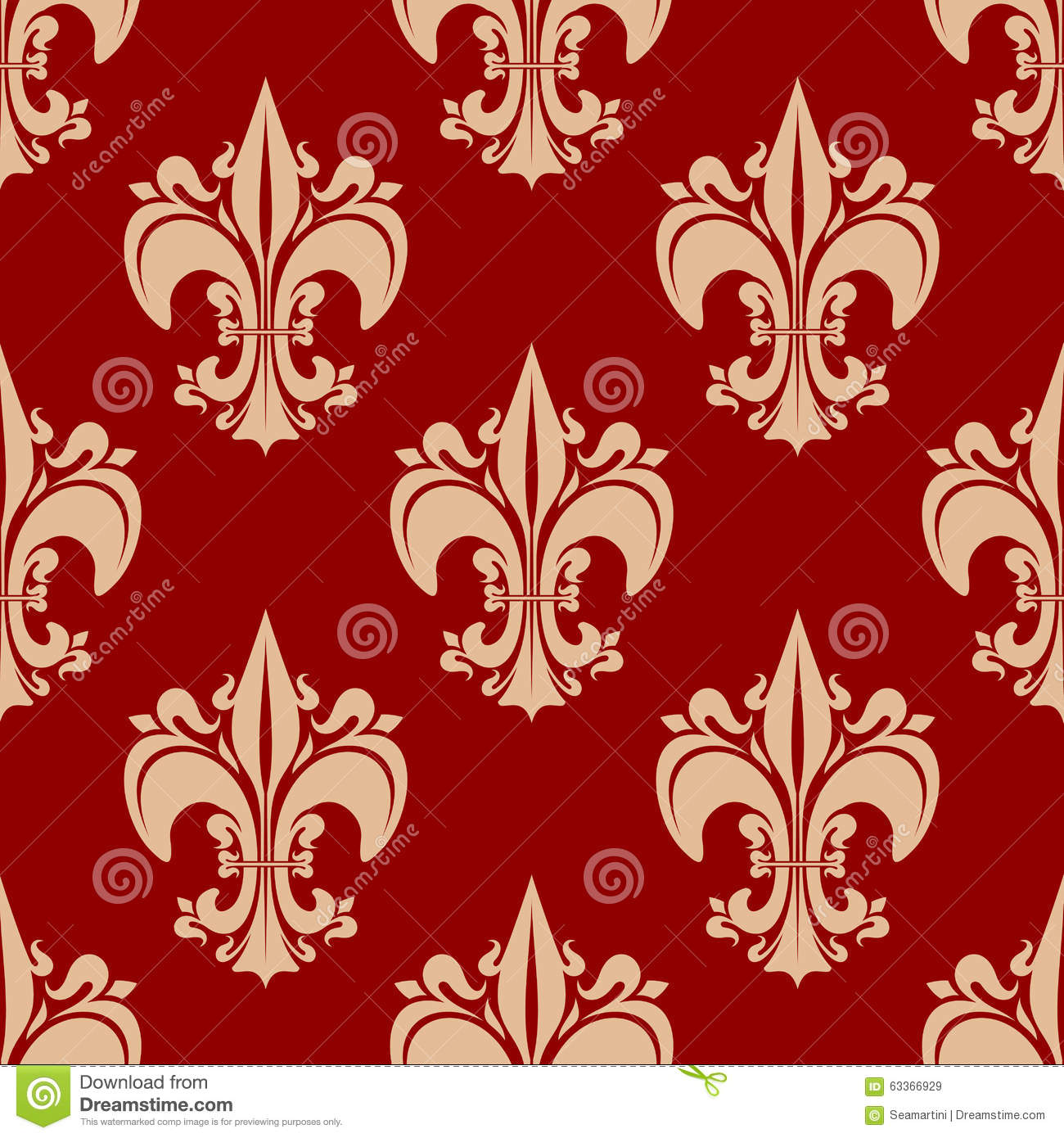 red flourish papel de - photo #40