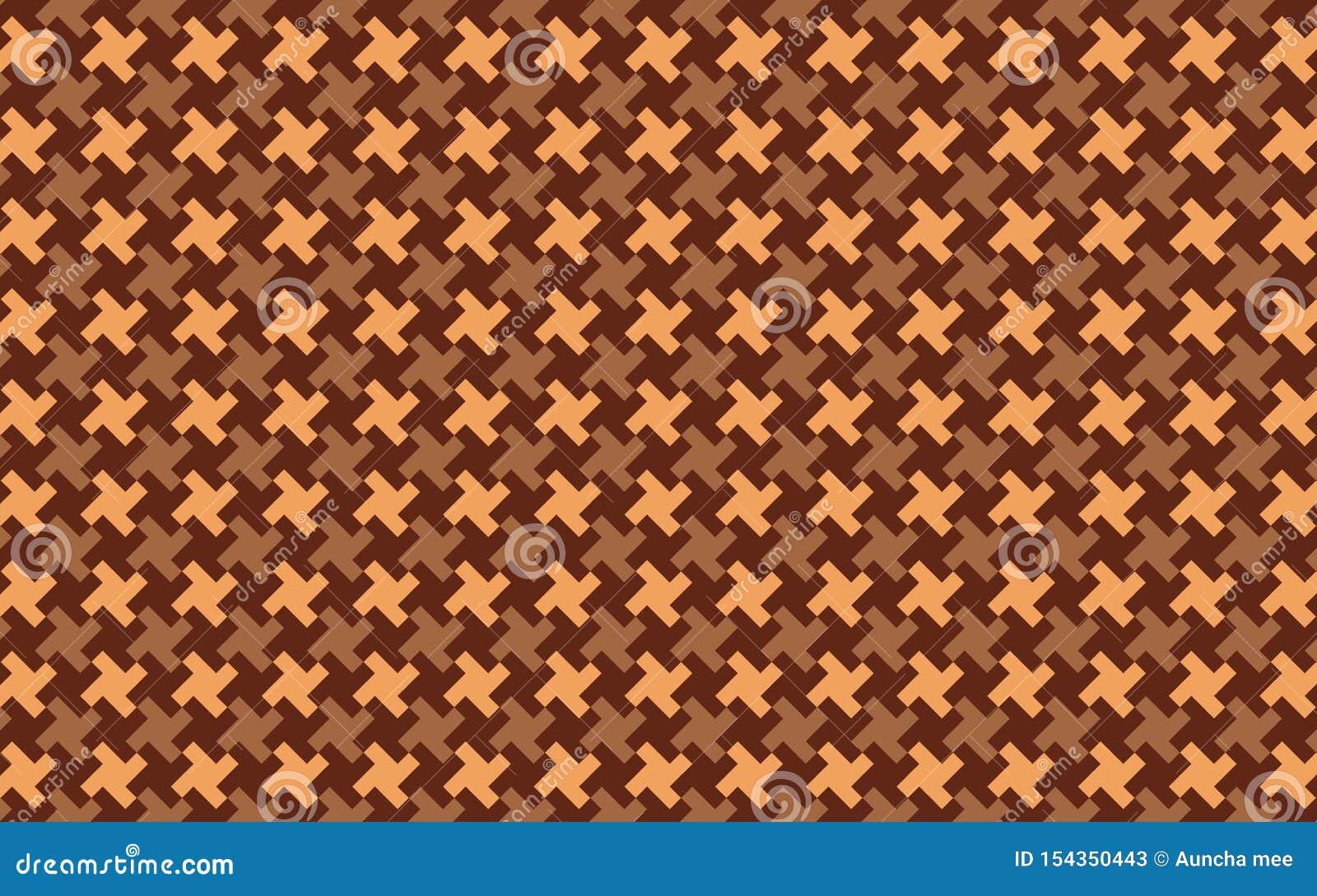 Seamless houndtooth pattern. Illustration design