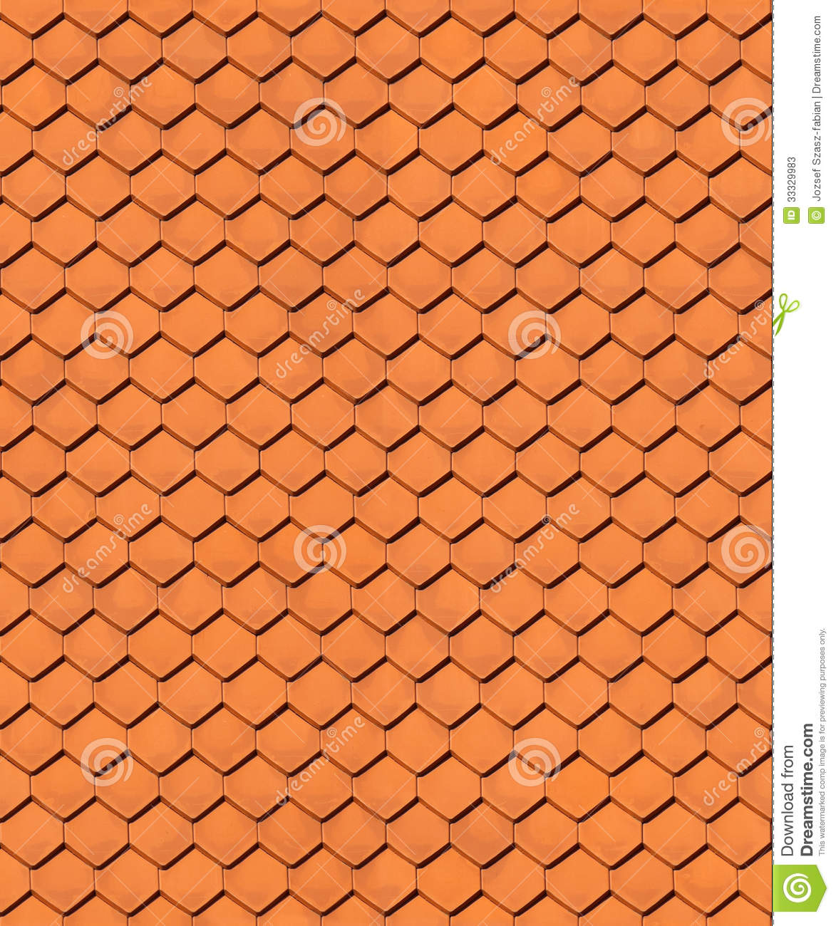 Seamless House Roof Texture Stock Photos Image 33329983