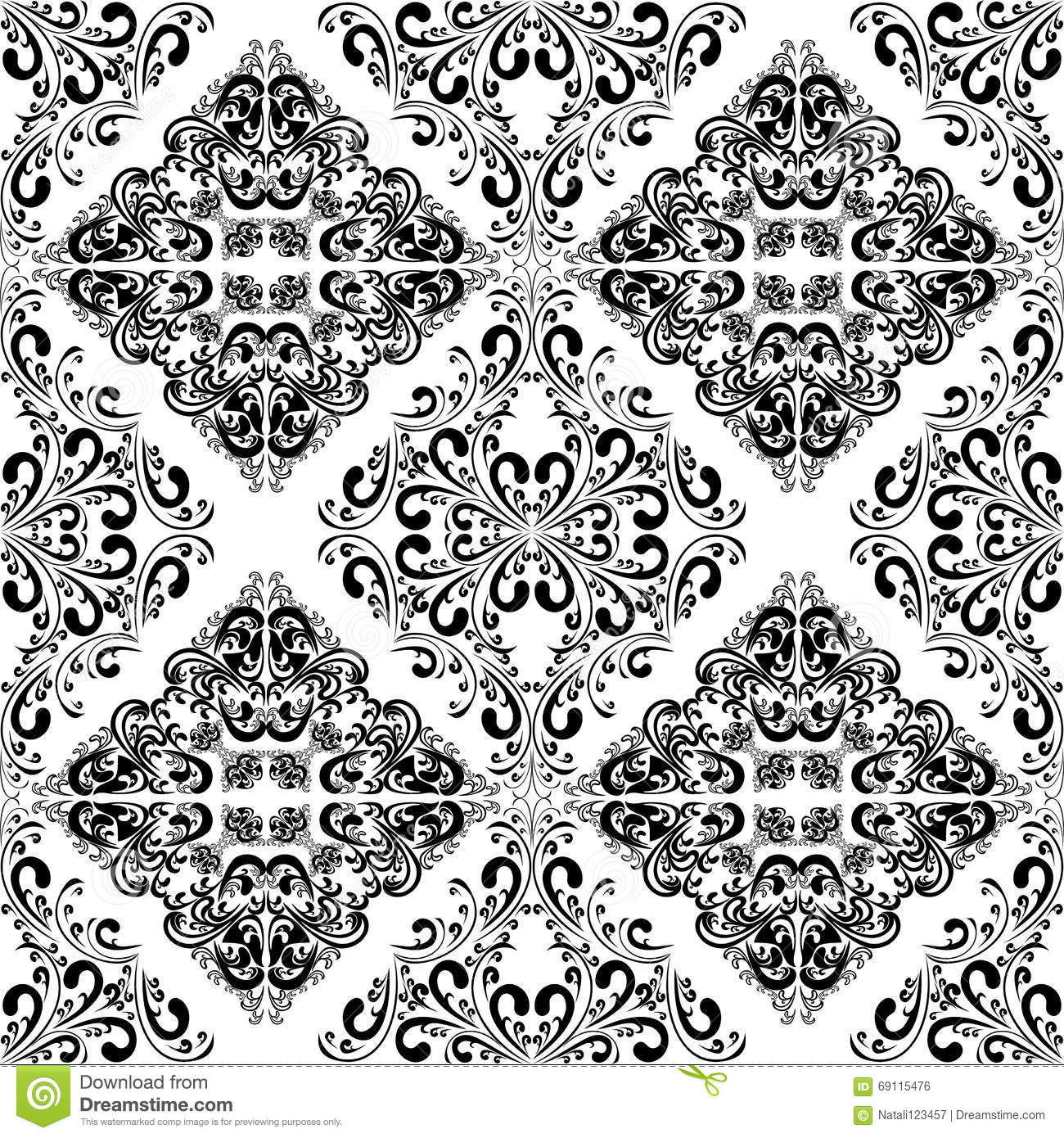 Uncategorized Intricate Pattern seamless intricate pattern design template stock vector image royalty free download pattern